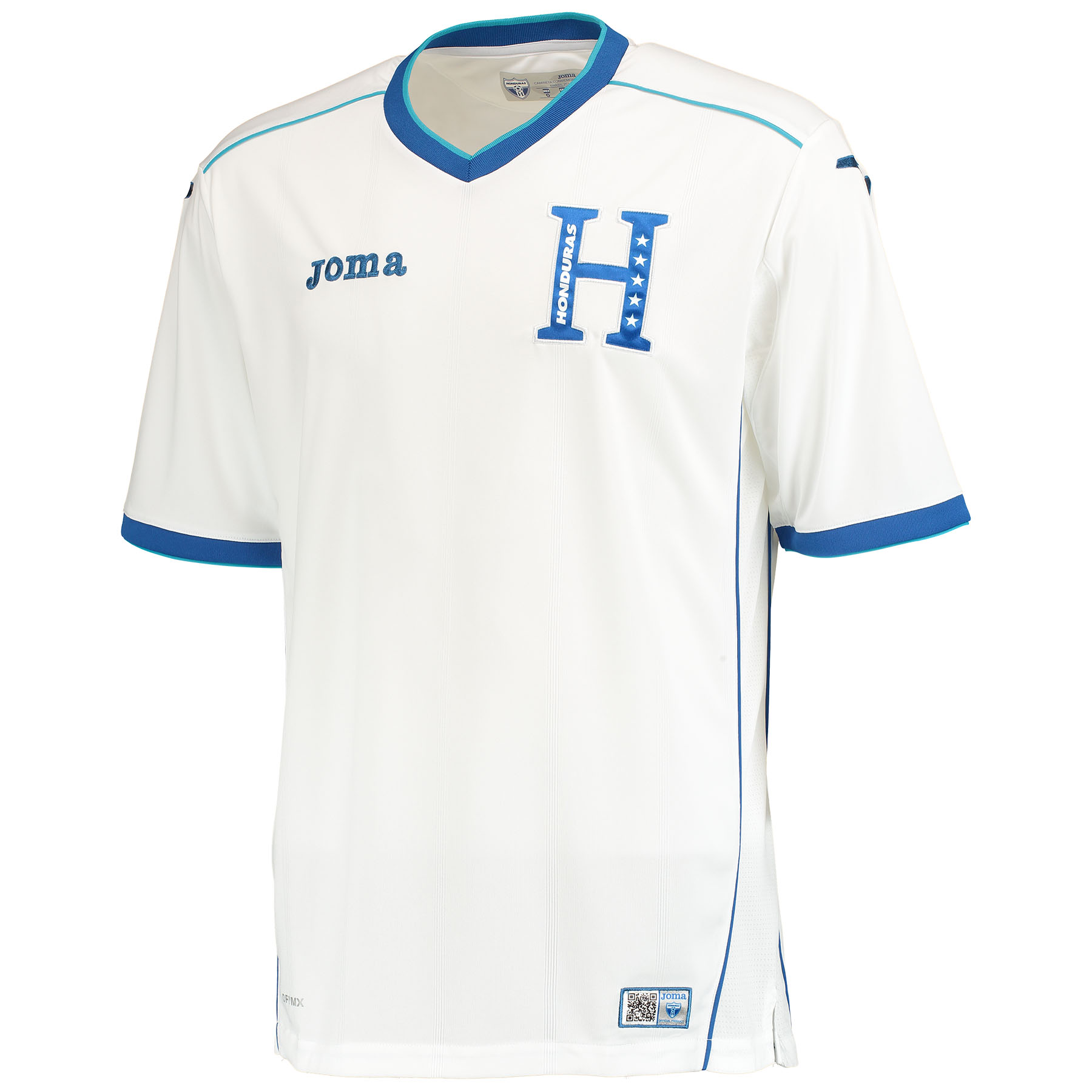 Honduras Home Shirt 2014 White White
