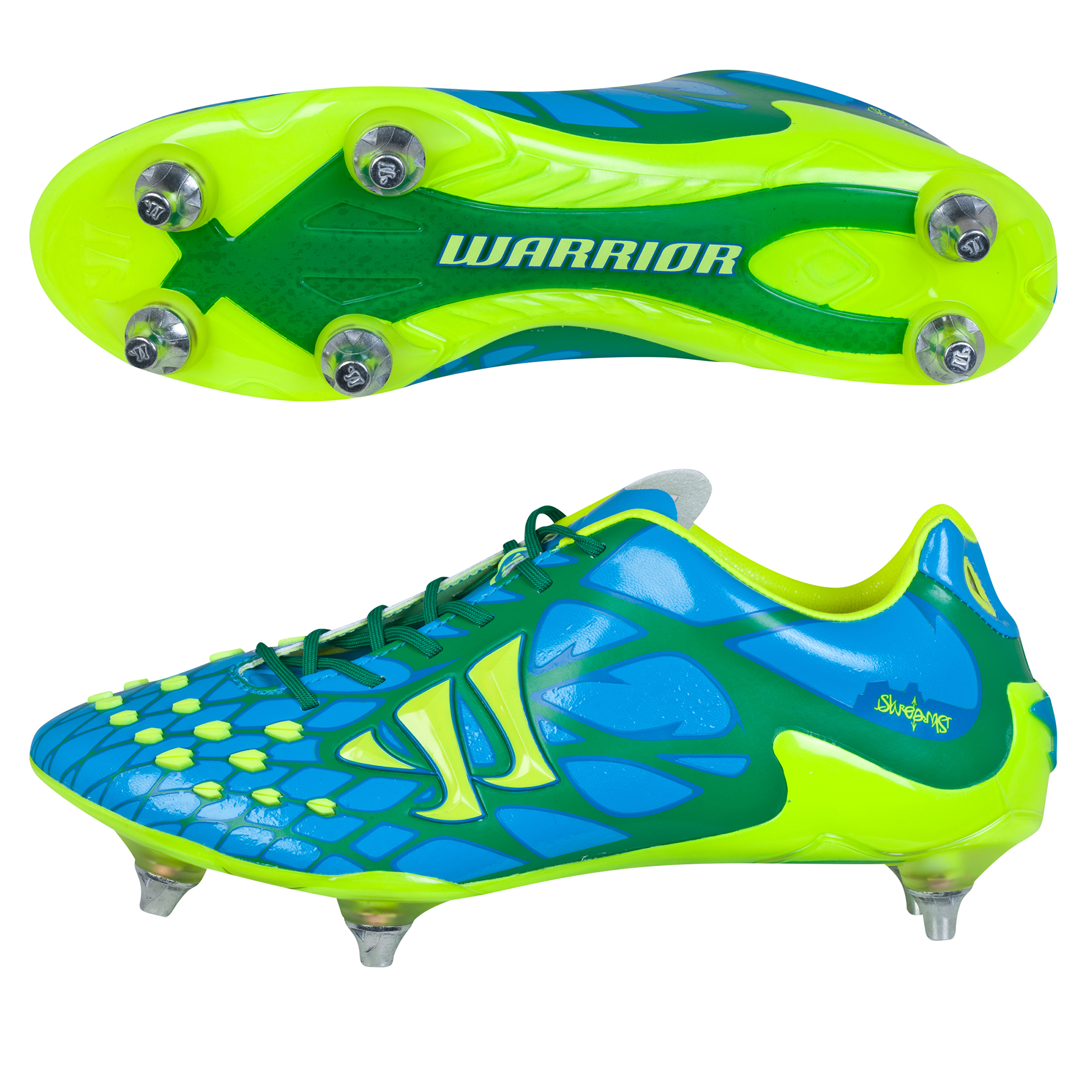 Warrior Skreamer II S-Lite Soft Ground Blue