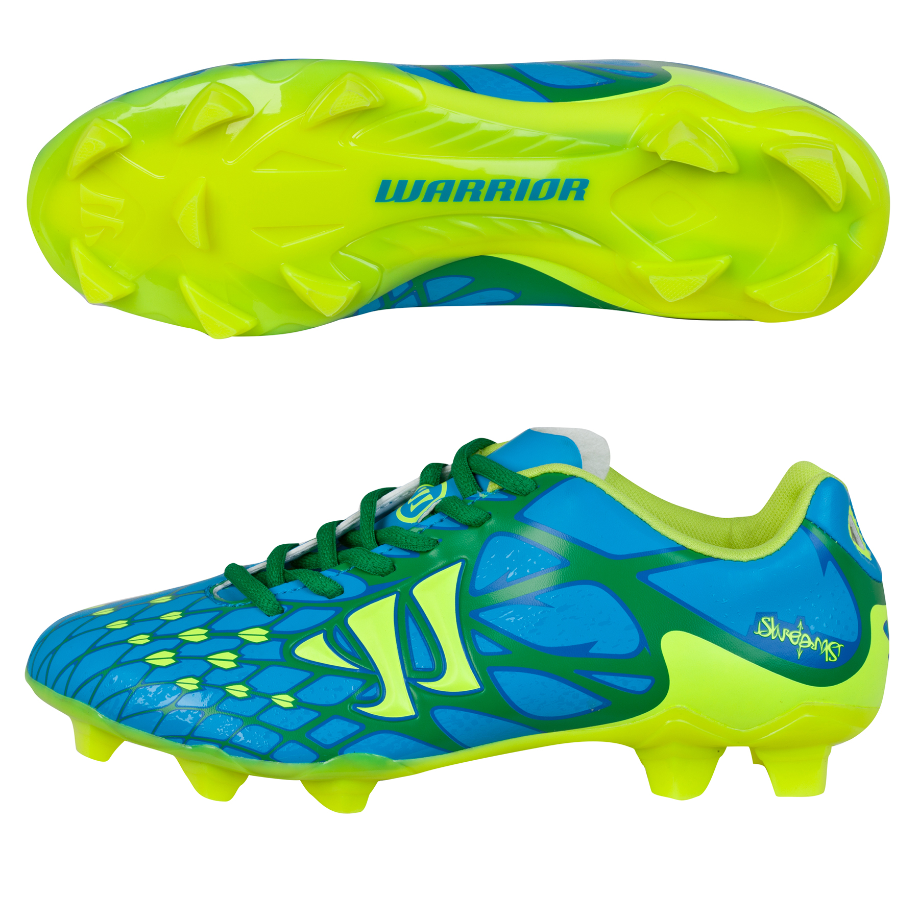Warrior Skreamer II Charge Firm Ground - Kids Blue