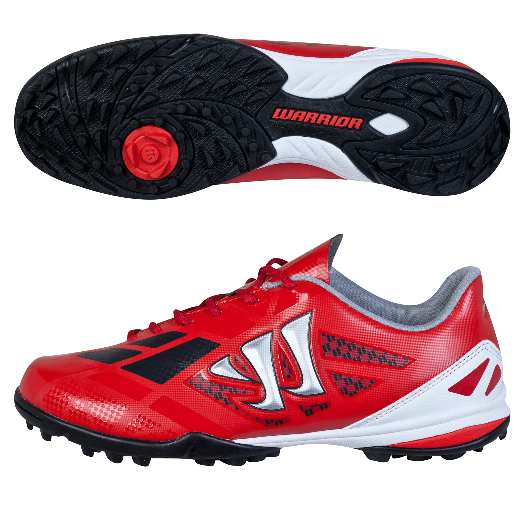 Warrior Gambler II Clash Astroturf - Kids Red