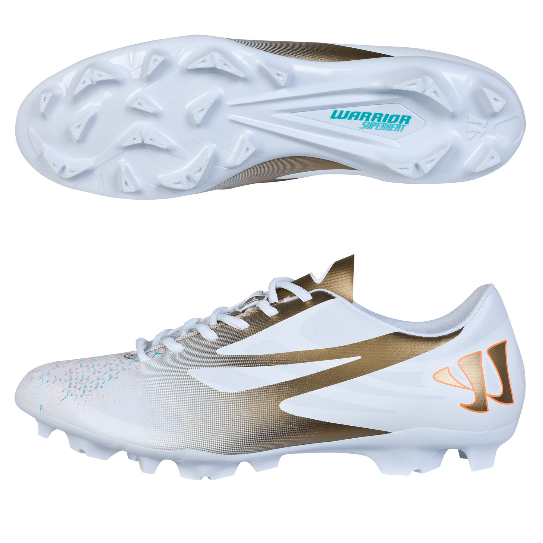 Warrior Superheat Combat Firm Ground White