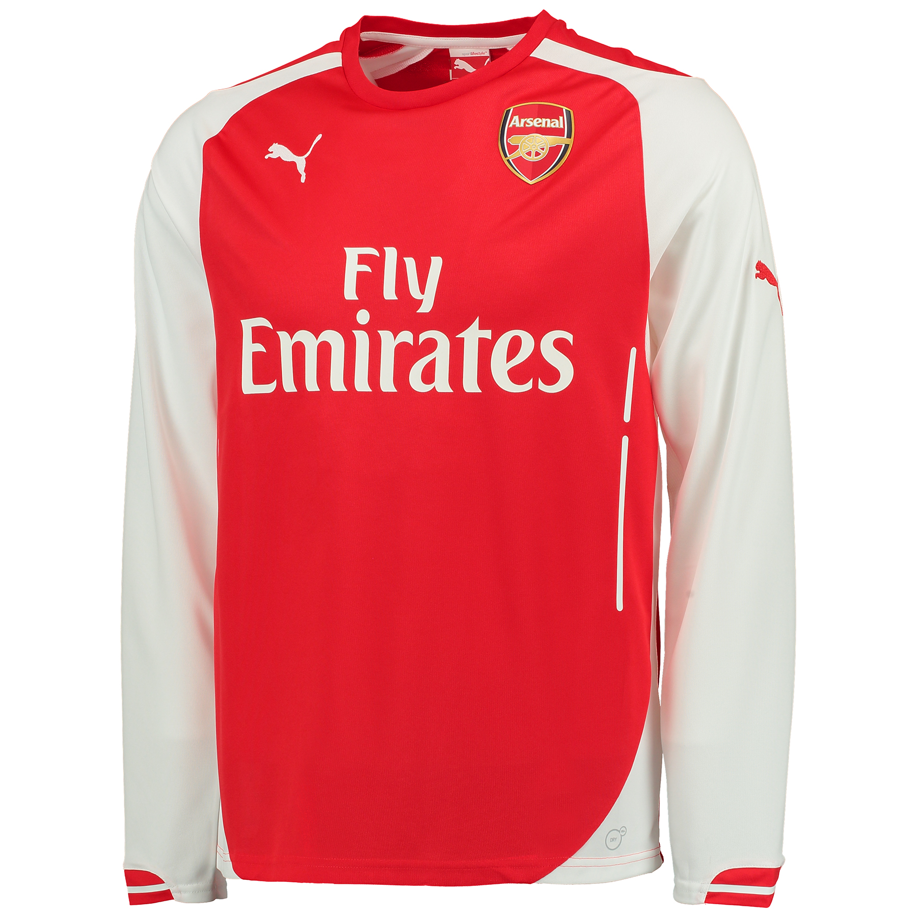 Arsenal Home Shirt 2014/15 - Long Sleeve
