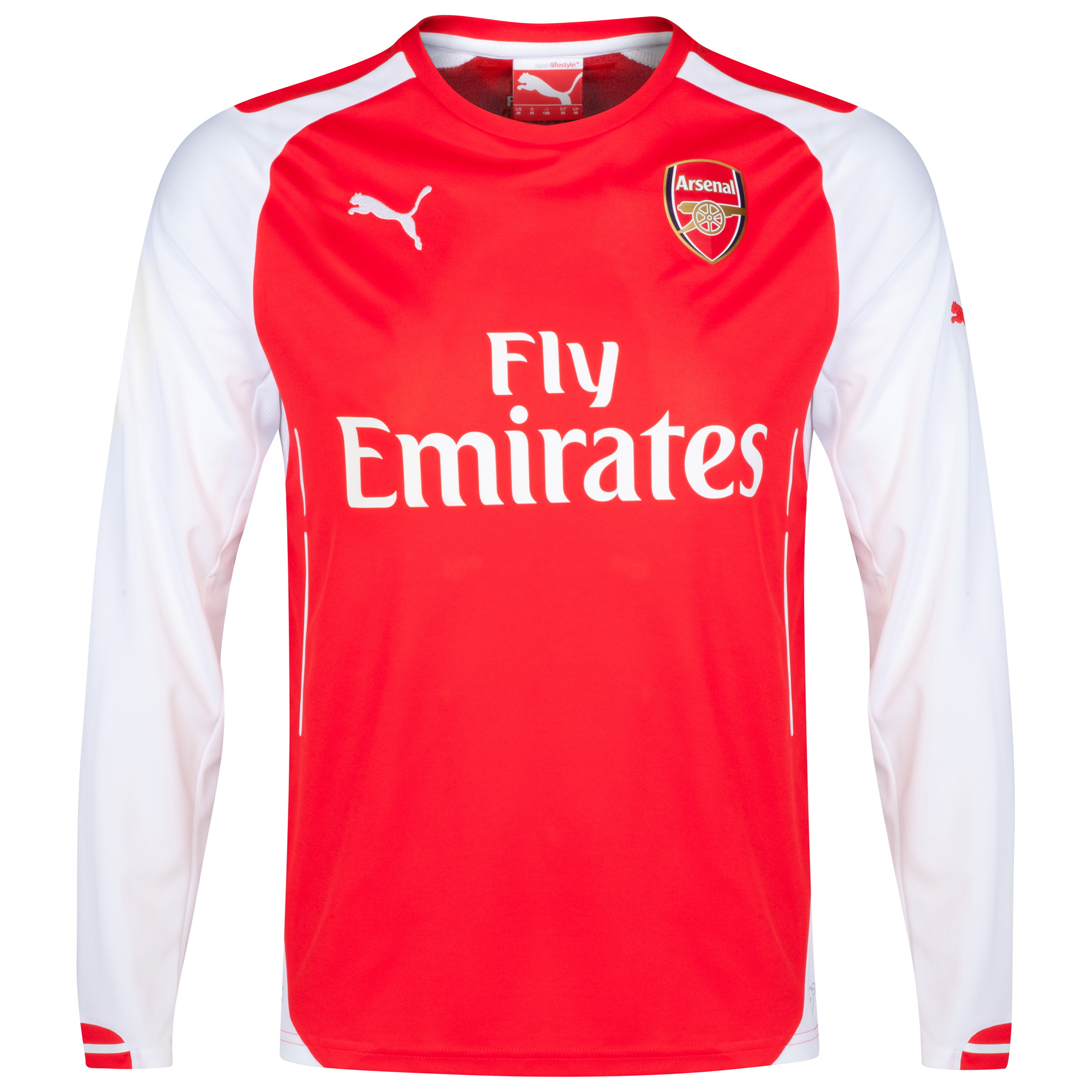 Arsenal Home Shirt 2014/15 - Long Sleeve - Kids