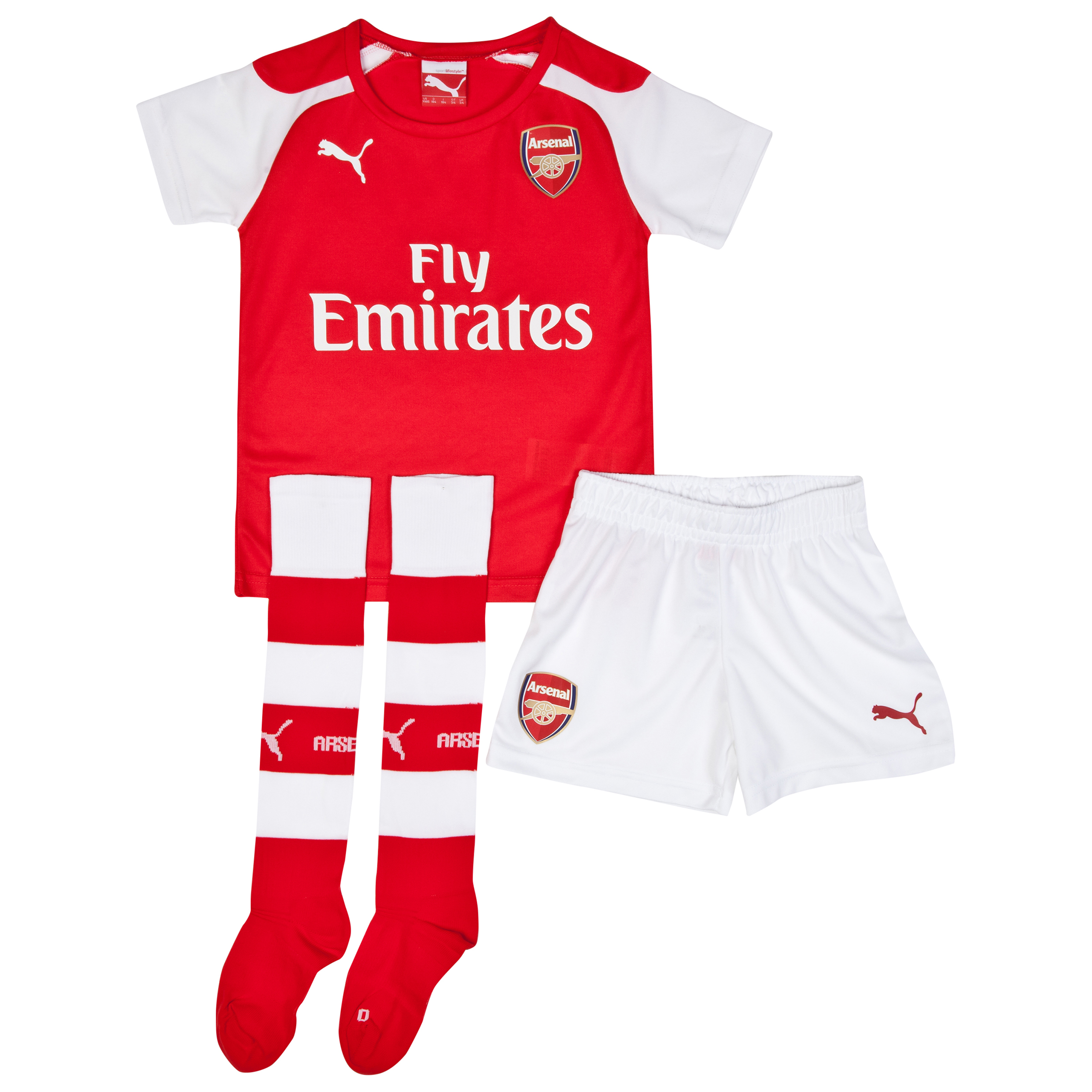 Arsenal Home Mini Kit 2014/15