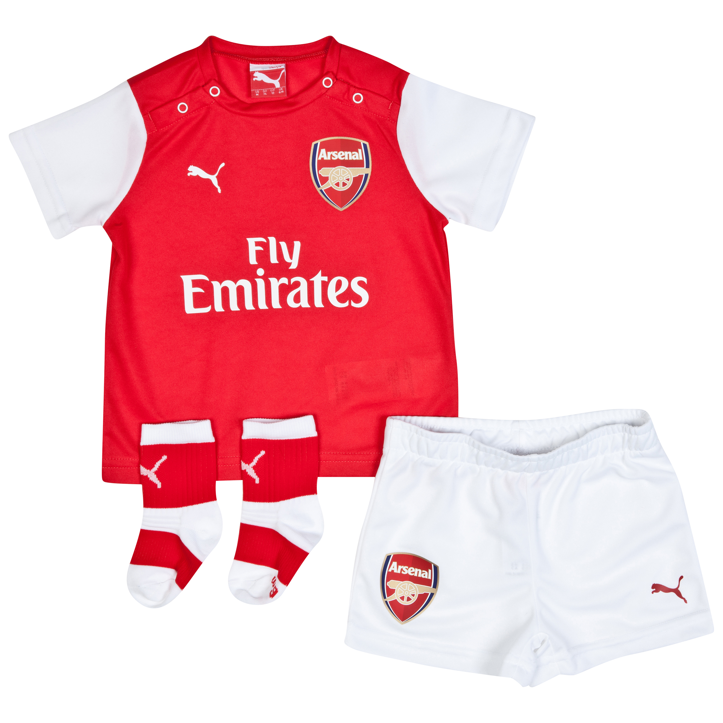 Arsenal Home Baby Kit 2014/15