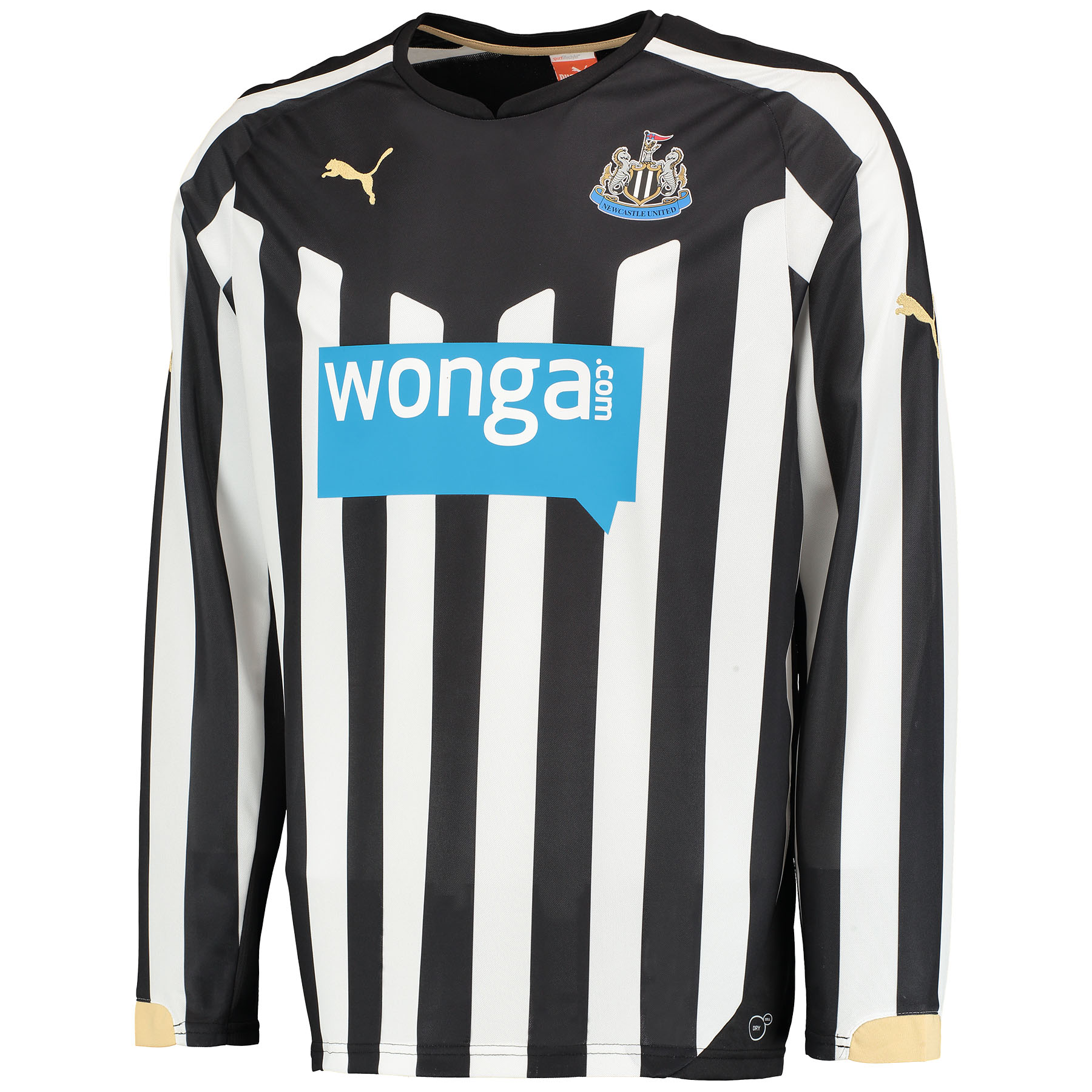 Newcastle United Home Shirt 2014/15 Long Sleeve