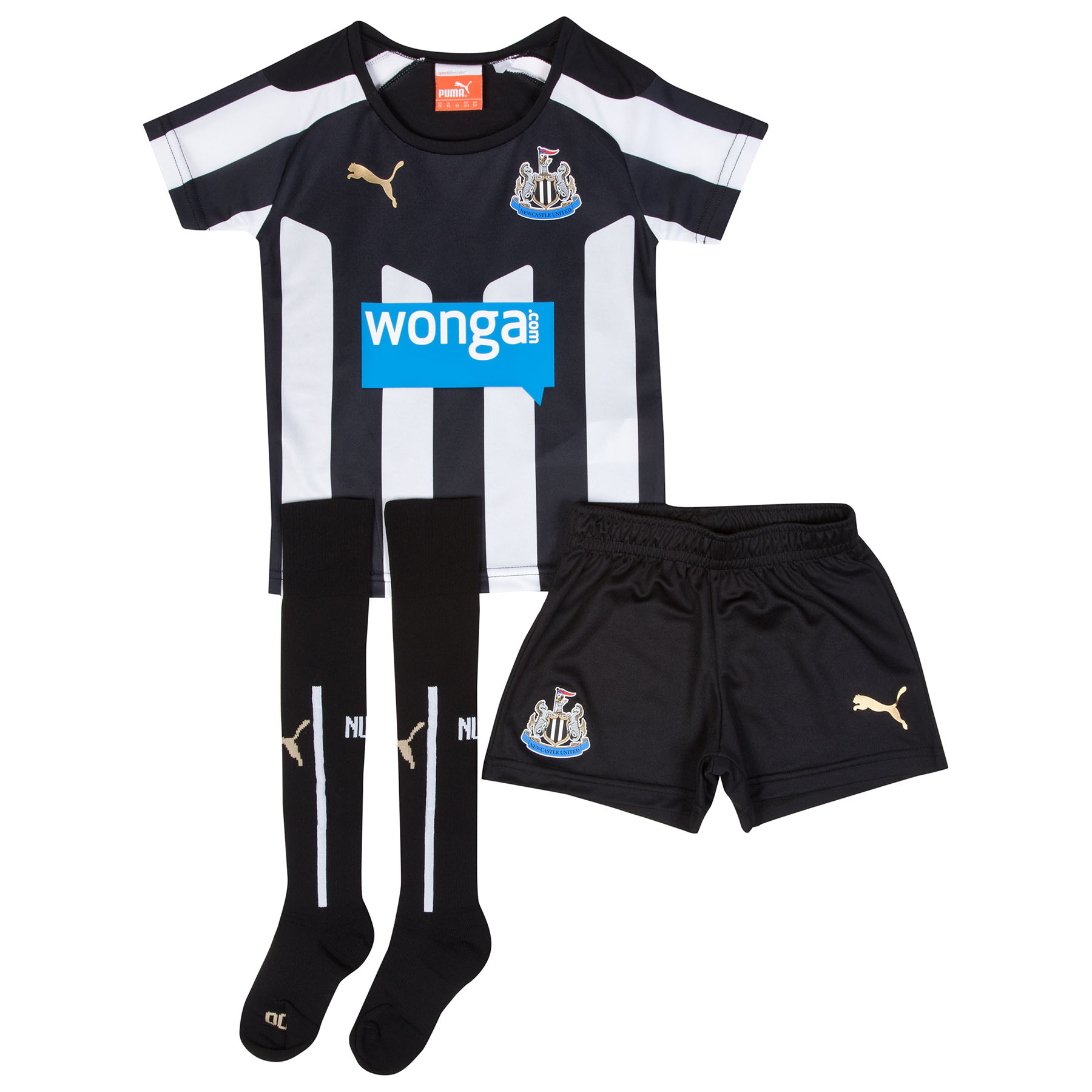 Newcastle United Home Mini Kit 2014/15