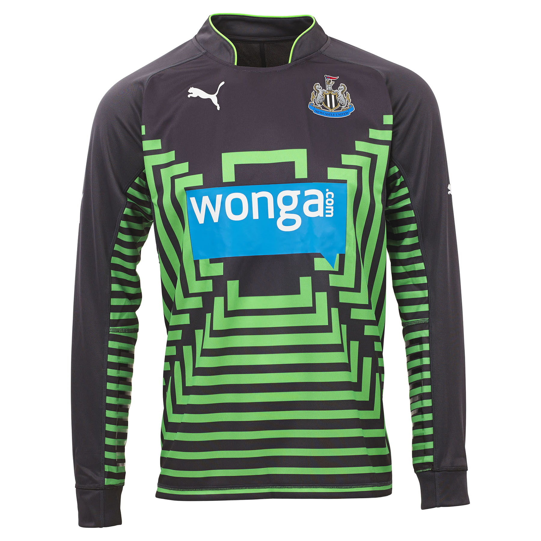 Newcastle United Home Goalkeeper Shirt 2014/15 Kids