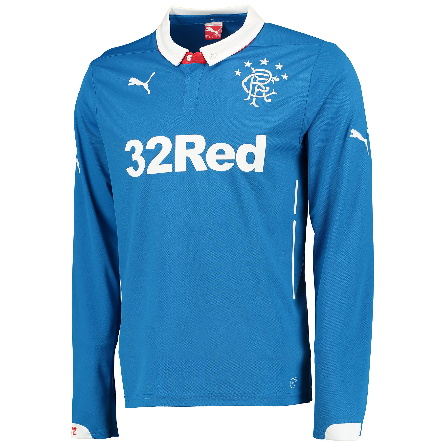 Glasgow Rangers Home Shirt 2014/15 Long Sleeve