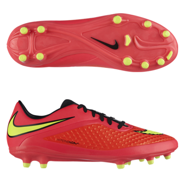 Nike Hypervenom Phelon Firm Ground Football Boots Red