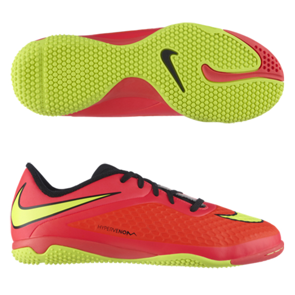 Nike Hypervenom Phelon Indoor Trainers - Kids Red