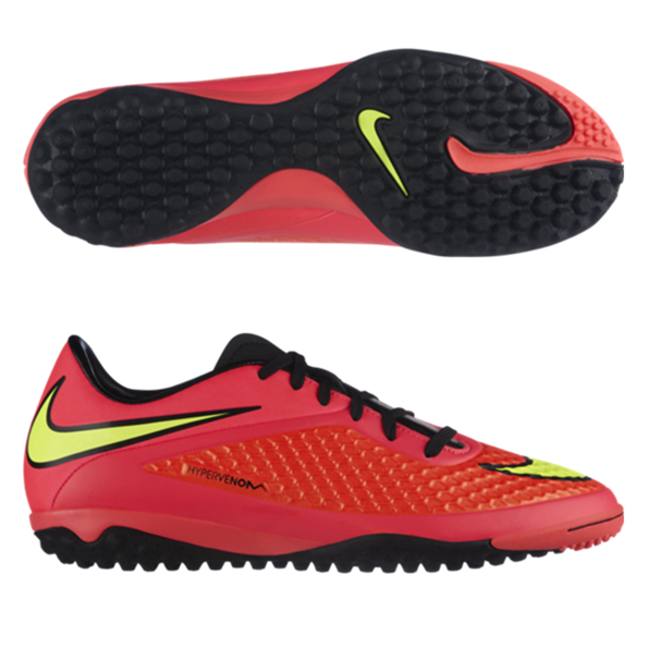 Nike Hypervenom Phelon Astroturf Trainers Red