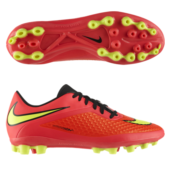 Nike Hypervenom Phelon Artificial Grass Football Boots Red