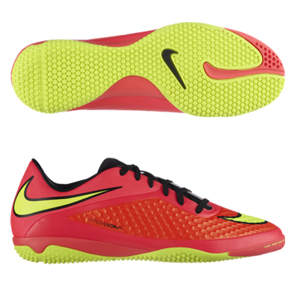 Nike Hypervenom Phelon Indoor Trainers Red