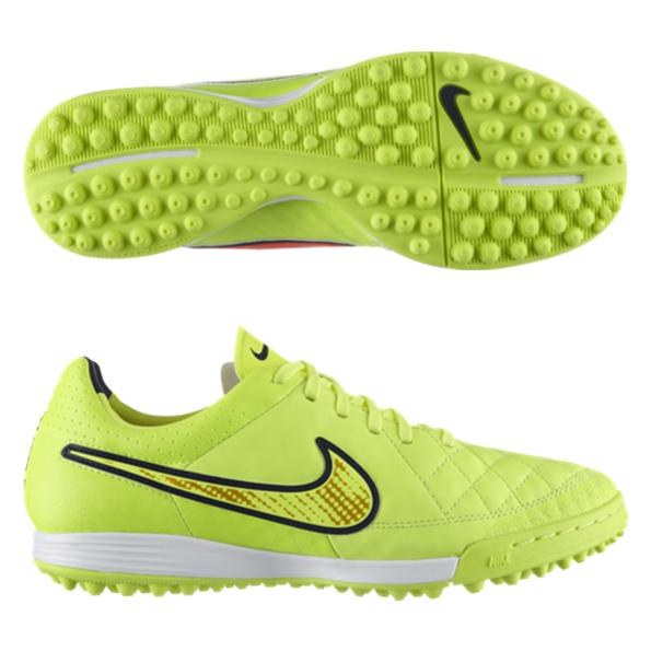 Nike Tiempo Legacy Astroturf Trainers Yellow