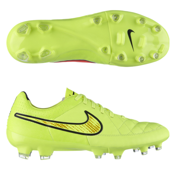 Nike Tiempo Legacy Firm Ground Football Boots Yellow