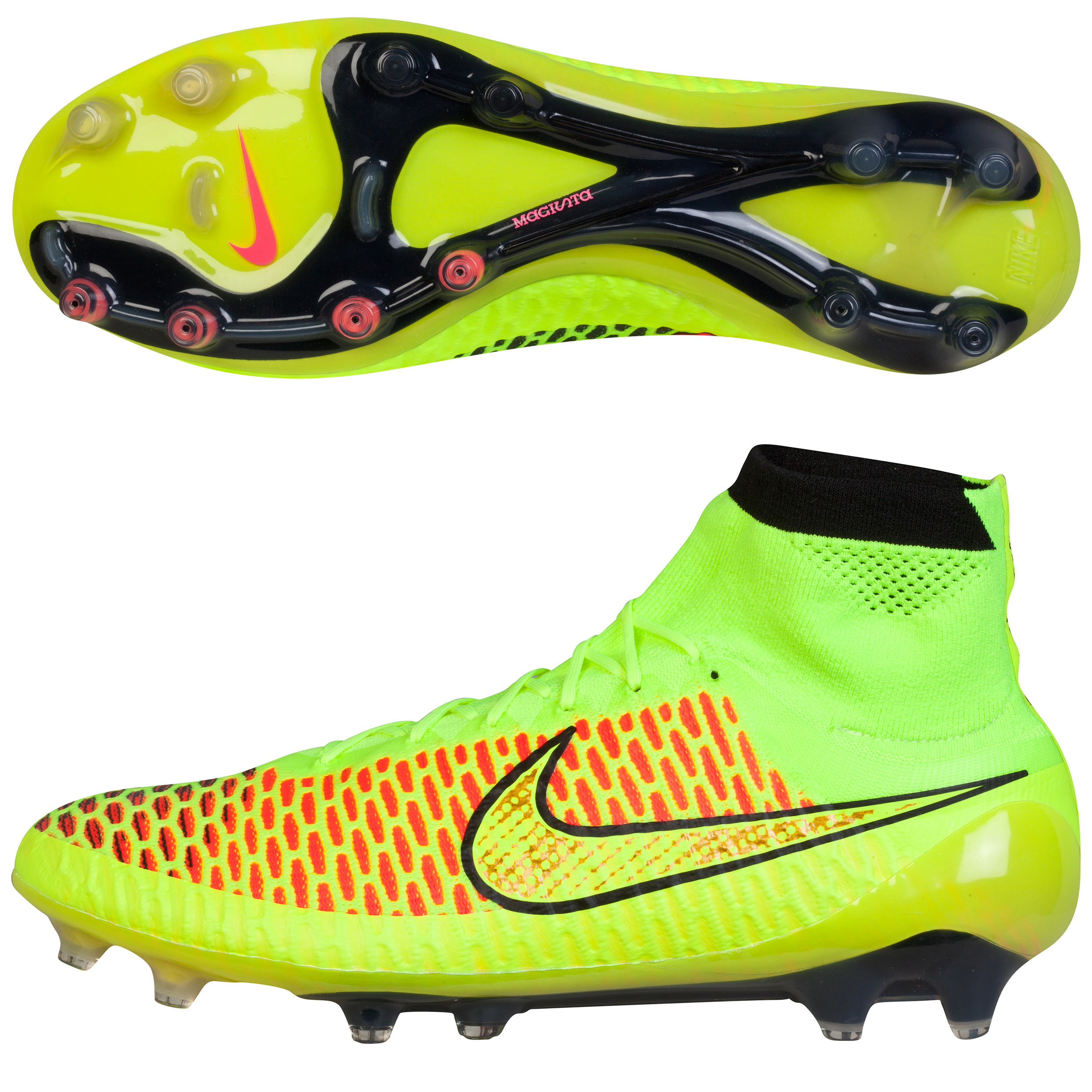 Nike Magista Obra Firm Ground Football Boots Yellow