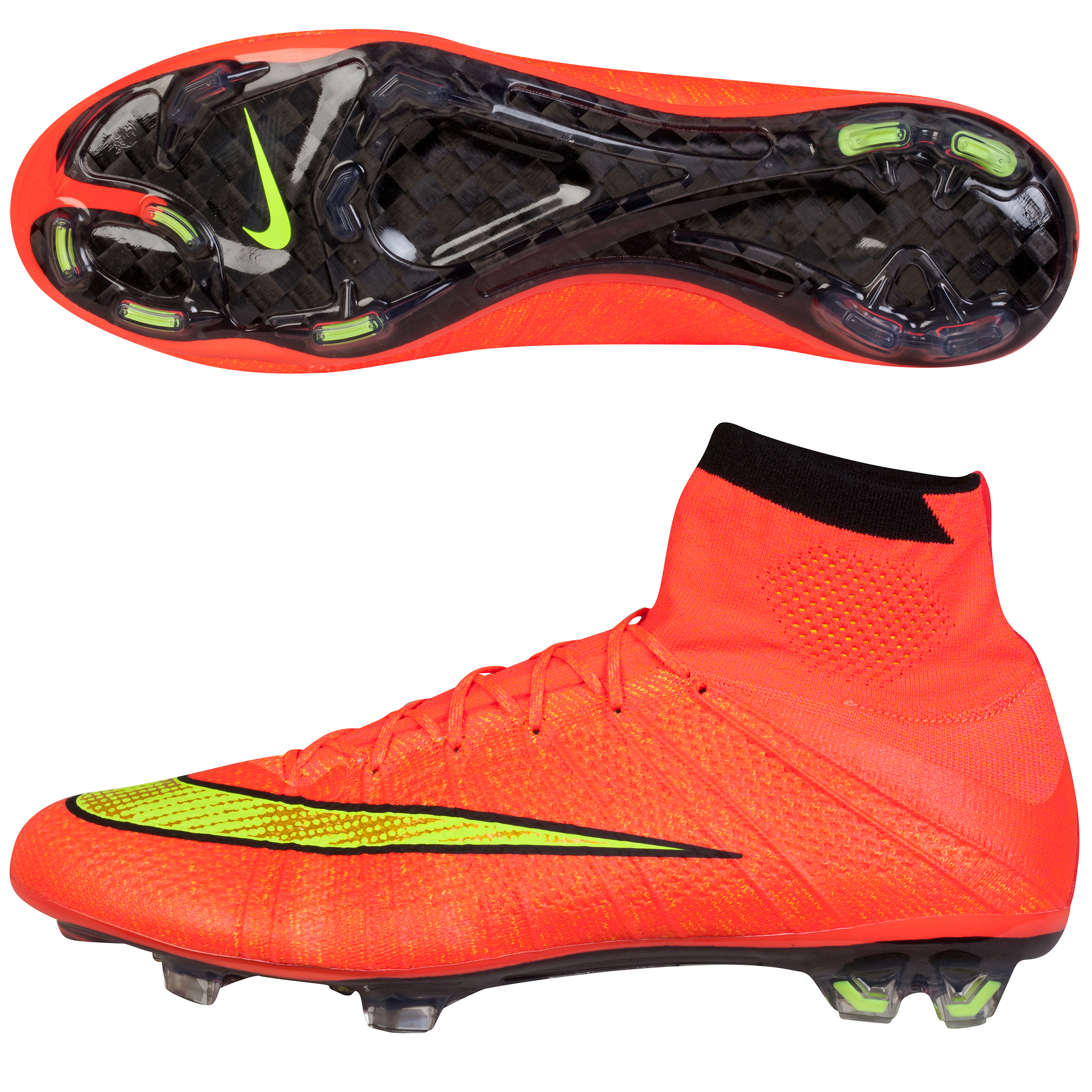Nike Mercurial Superfly Firm Ground Football Boots Pink