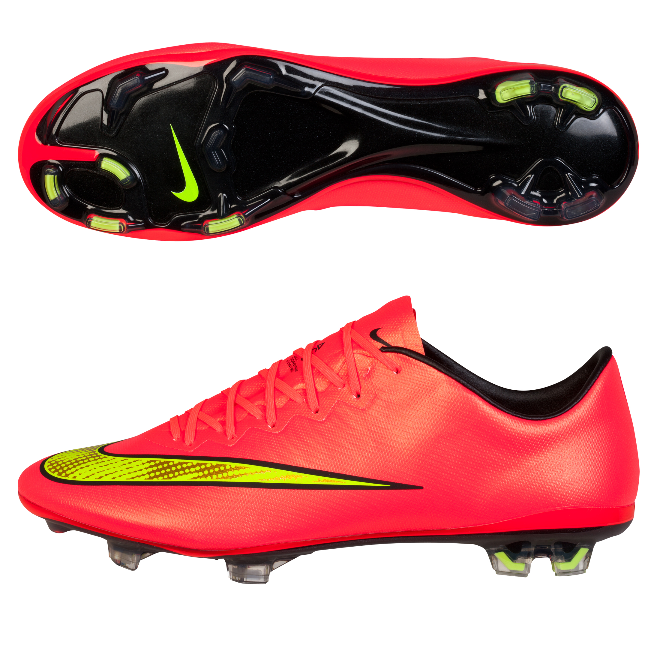 Nike Mercurial Vapor X Firm Ground Football Boots Pink