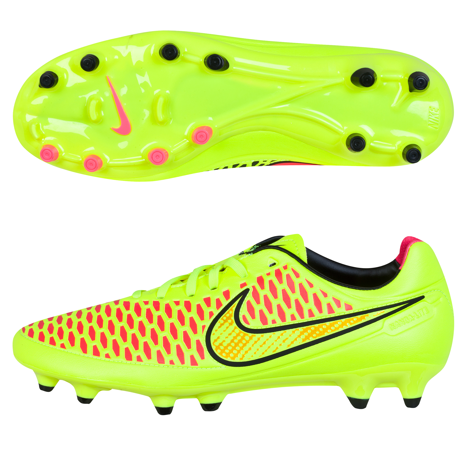 Nike Magista Orden Firm Ground Football Boots Yellow