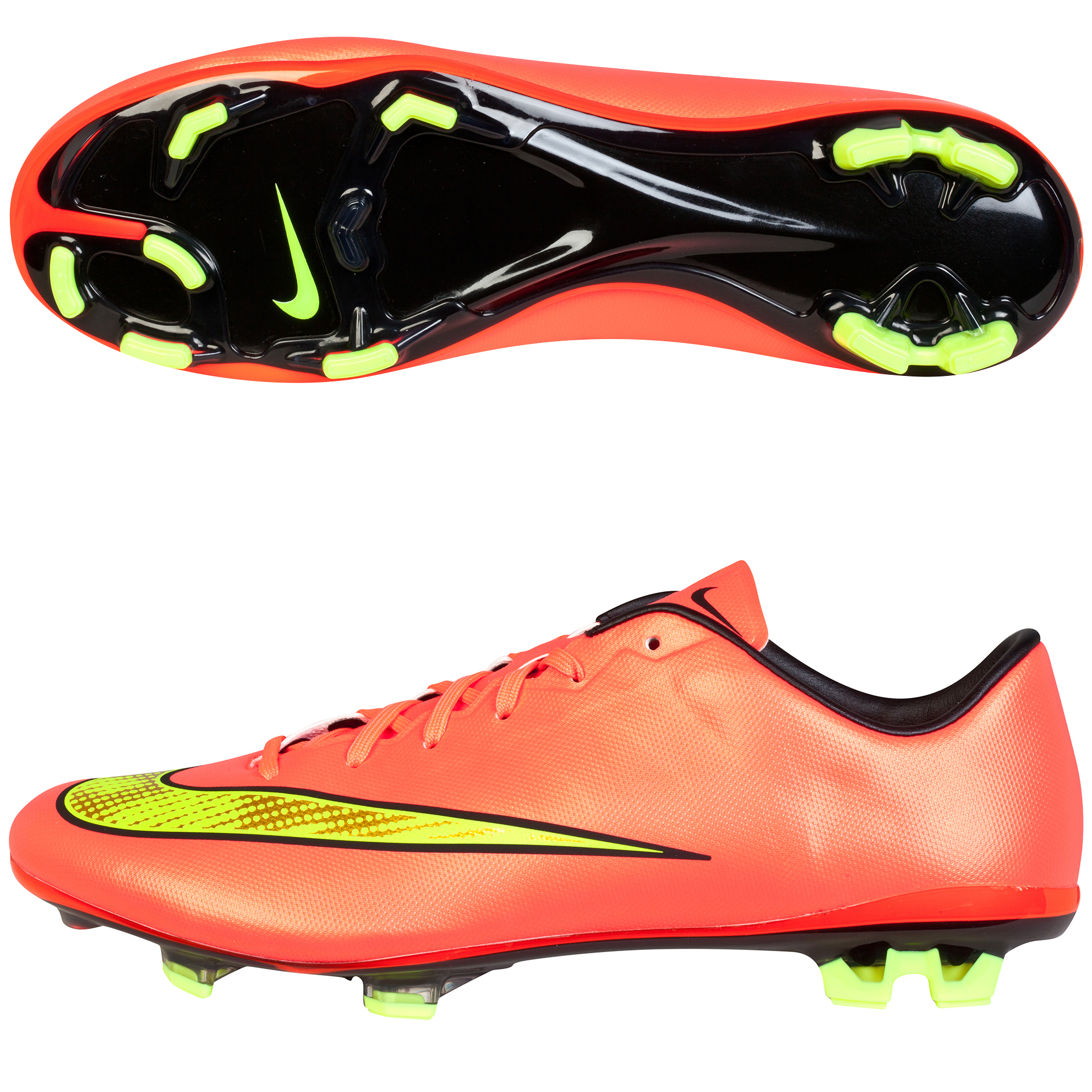 Nike Mercurial Veloce II Firm Ground Football Boots Pink