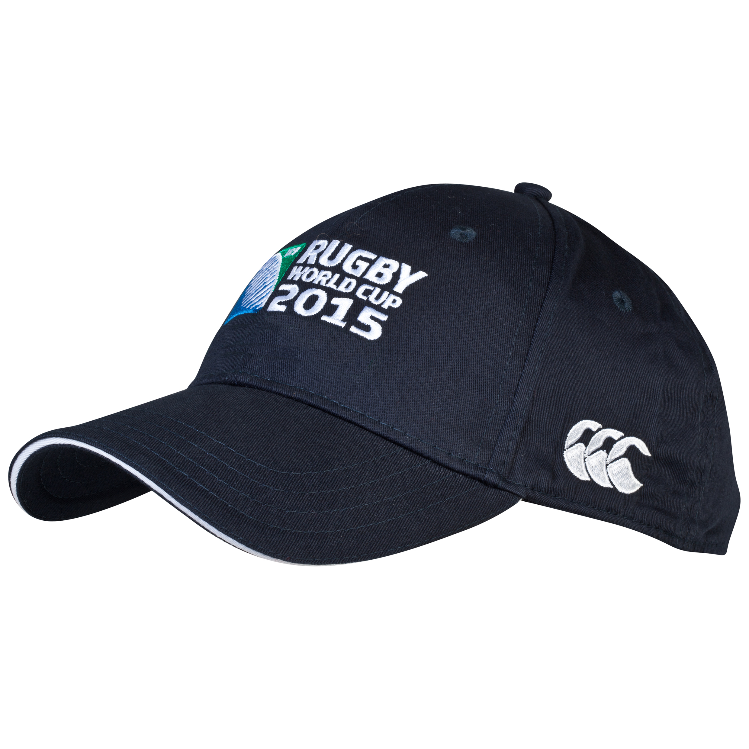 Canterbury Rugby World Cup 2015 Logo cap Navy