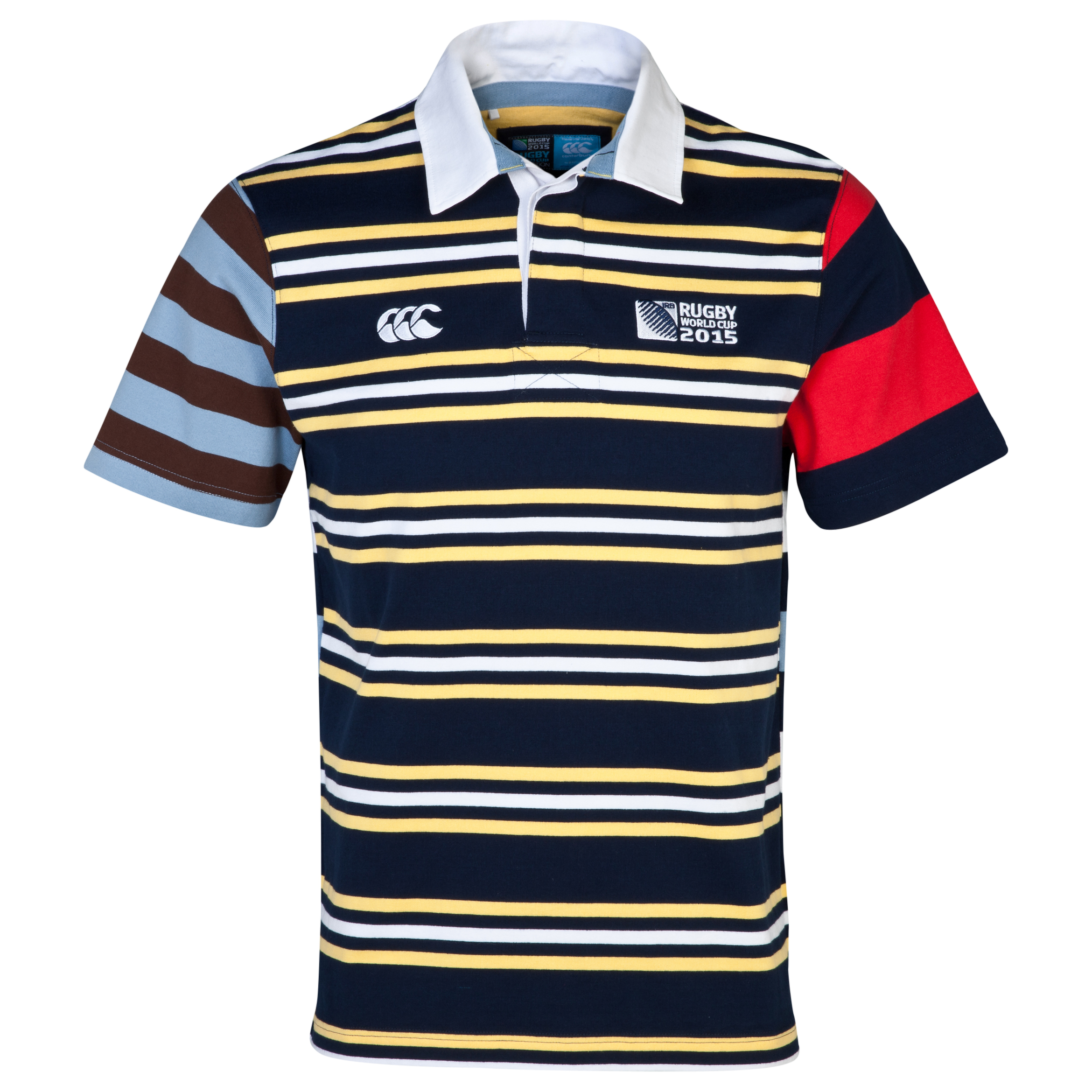 Canterbury Rugby World Cup Uglies Short Sleeve Rugby Navy