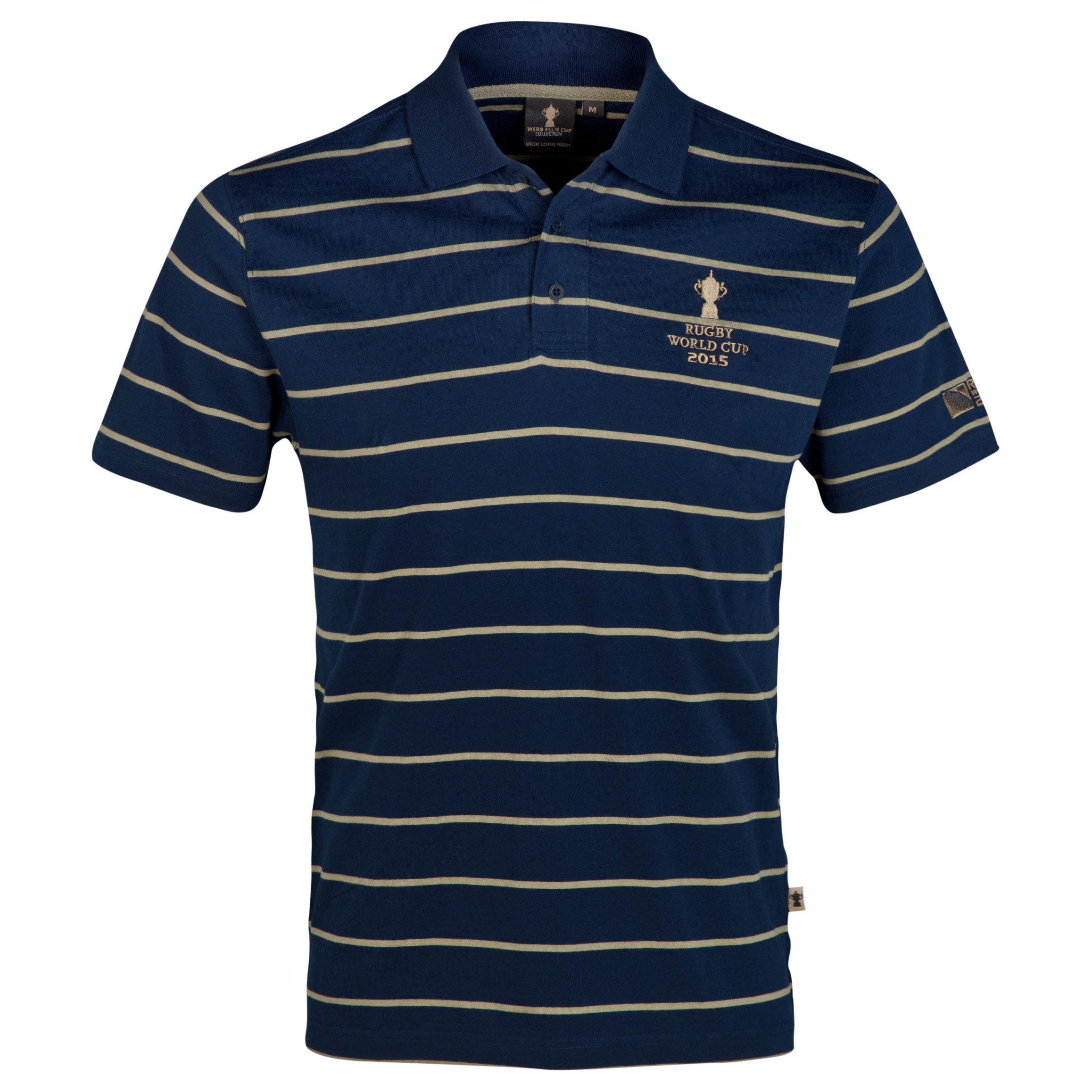 Canterbury Rugby World Cup Webb Ellis Cup Polo Navy