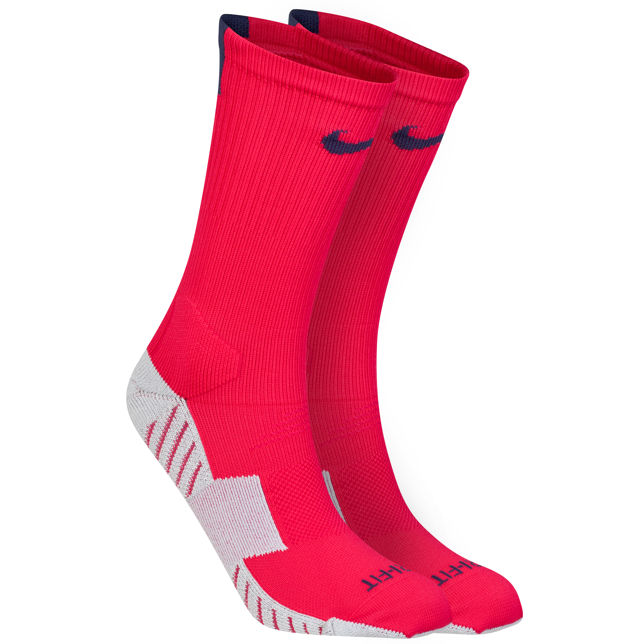 Nike Stadium Football Crew Sock Pink
