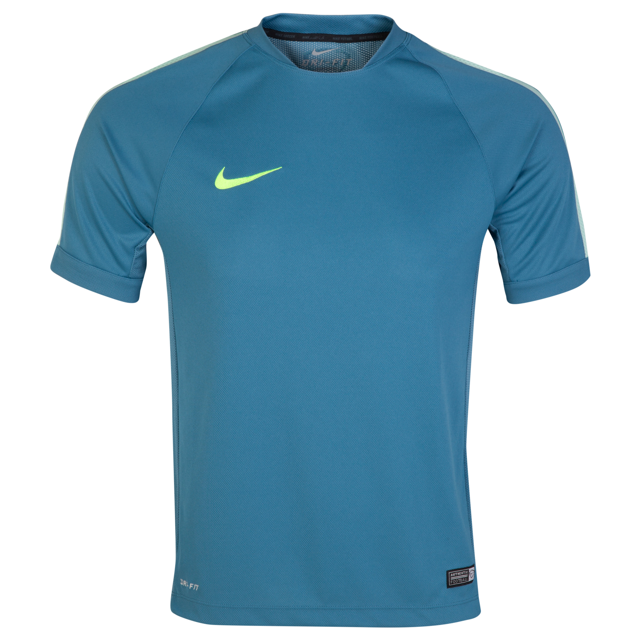 Nike Squad Flash Ss Trng Top Lt Blue