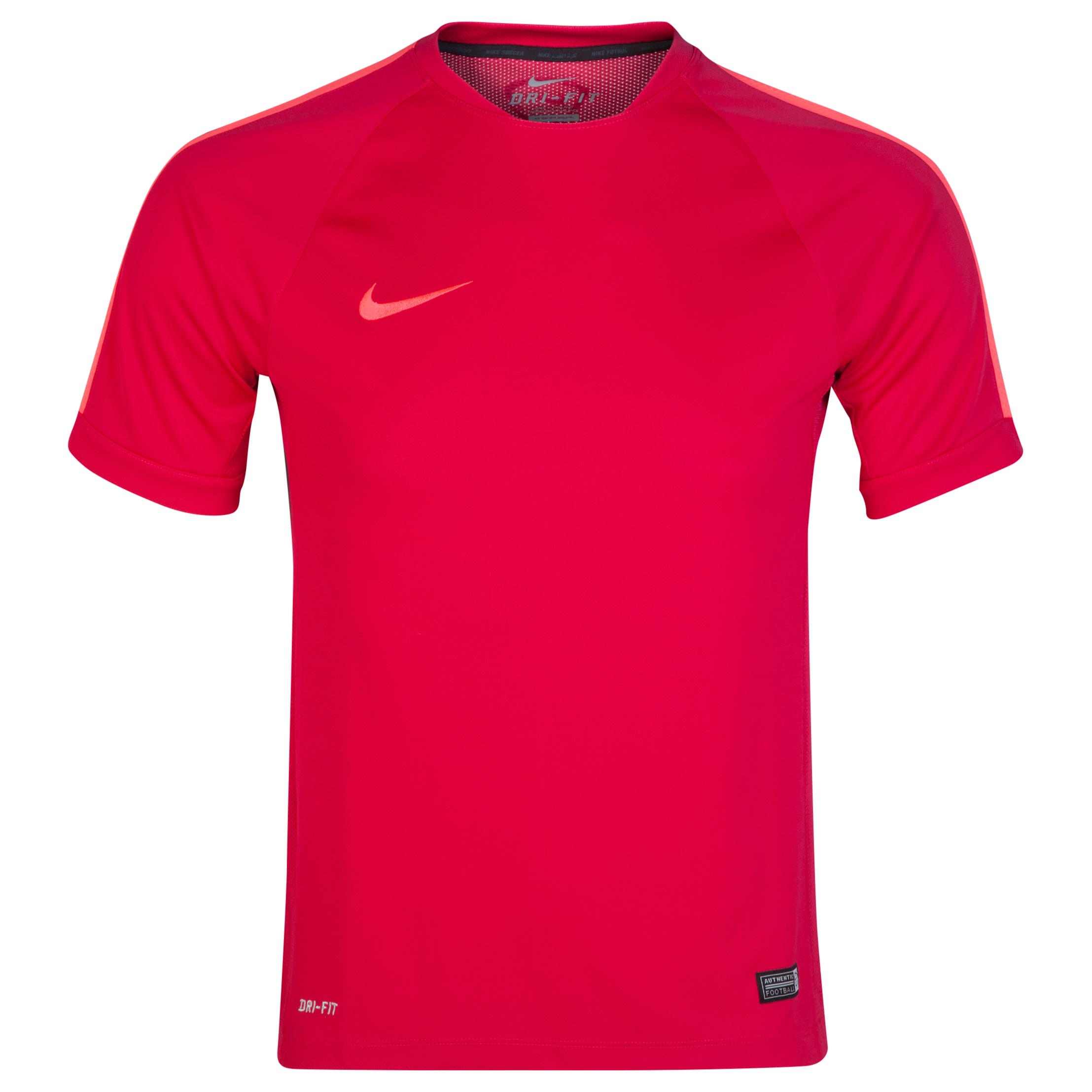 Nike Squad Flash Ss Trng Top Pink
