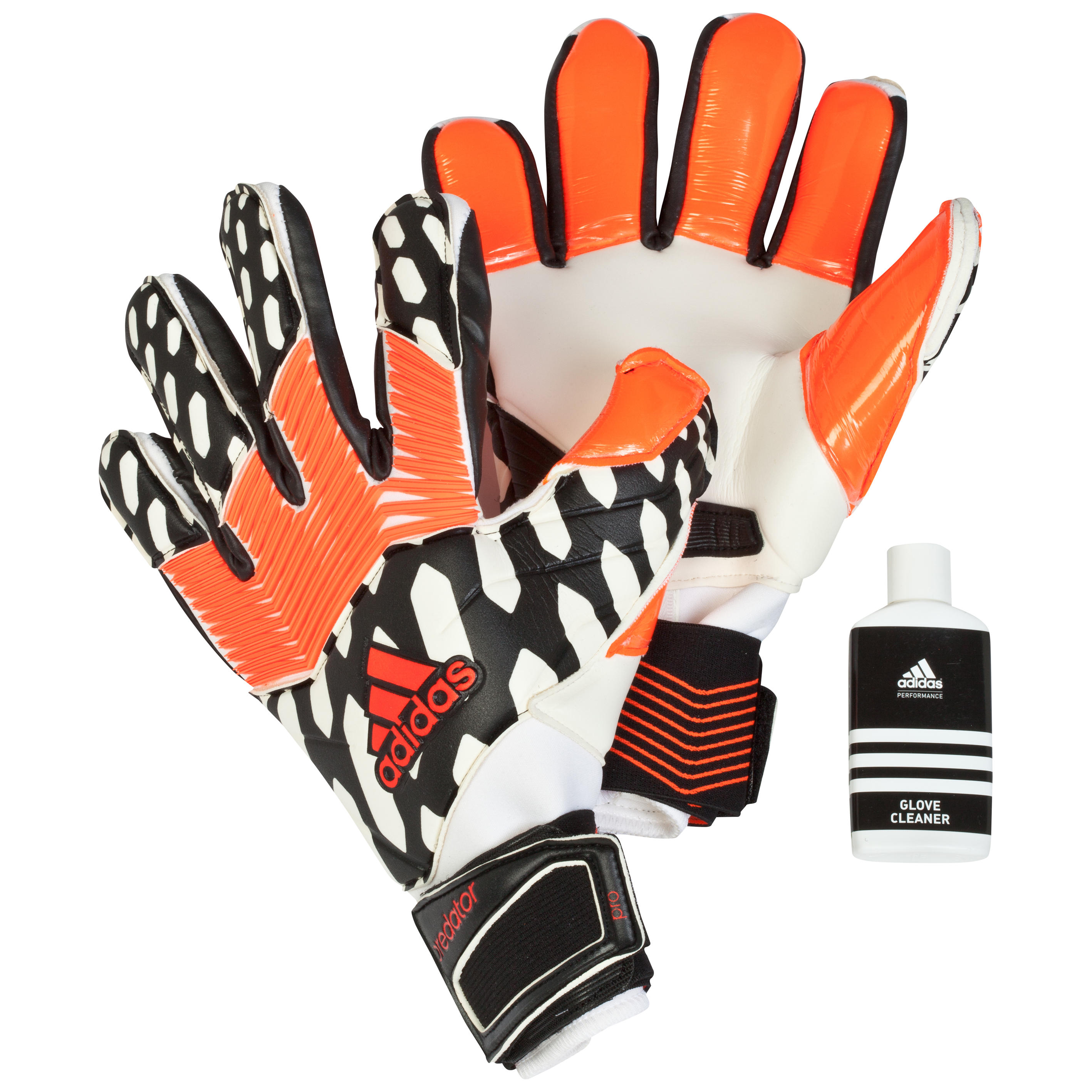 Adidas Predator Zones Pro Goalkeeper Gloves Black