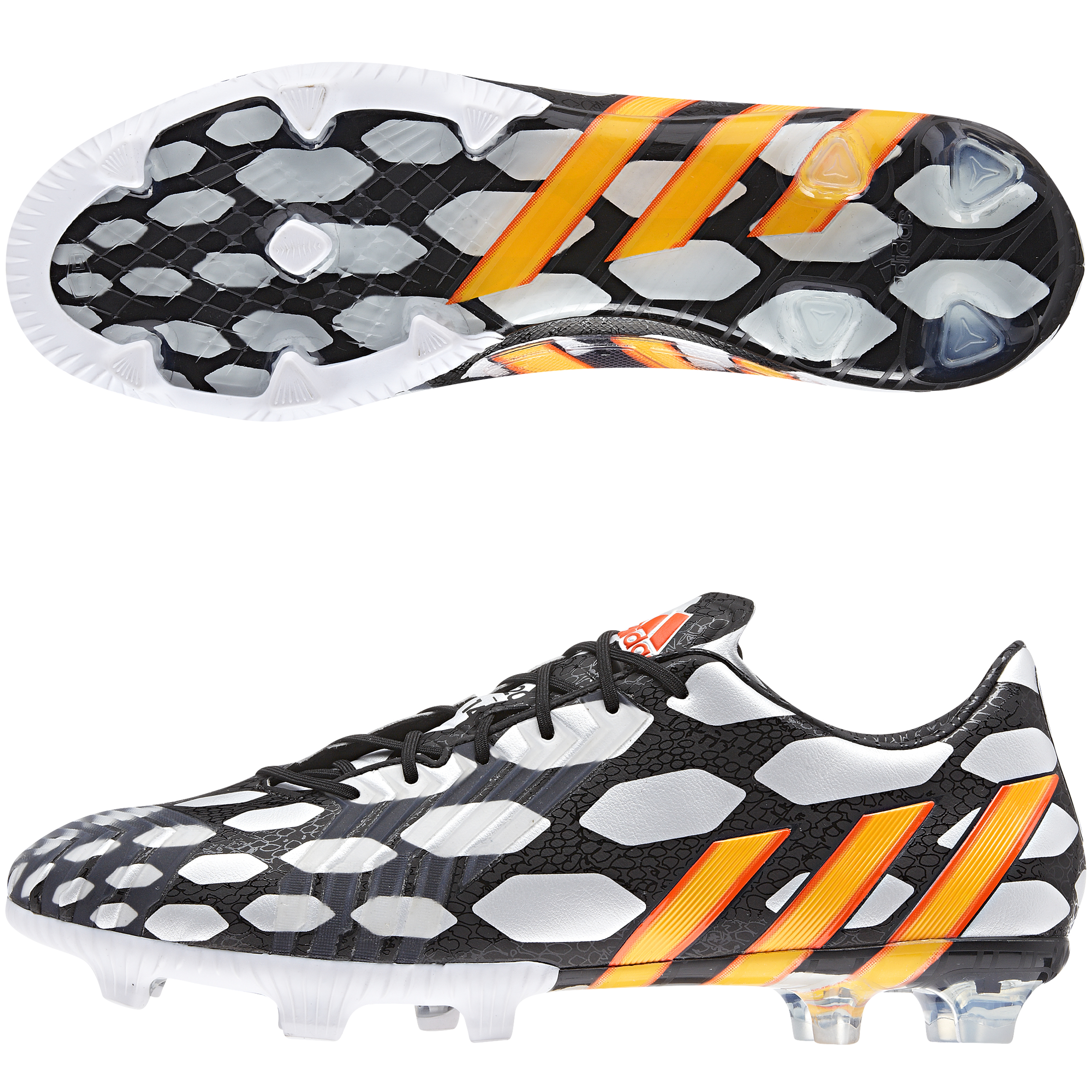 Adidas Predator LZ World Cup 2014 Firm Ground Football Boots Black
