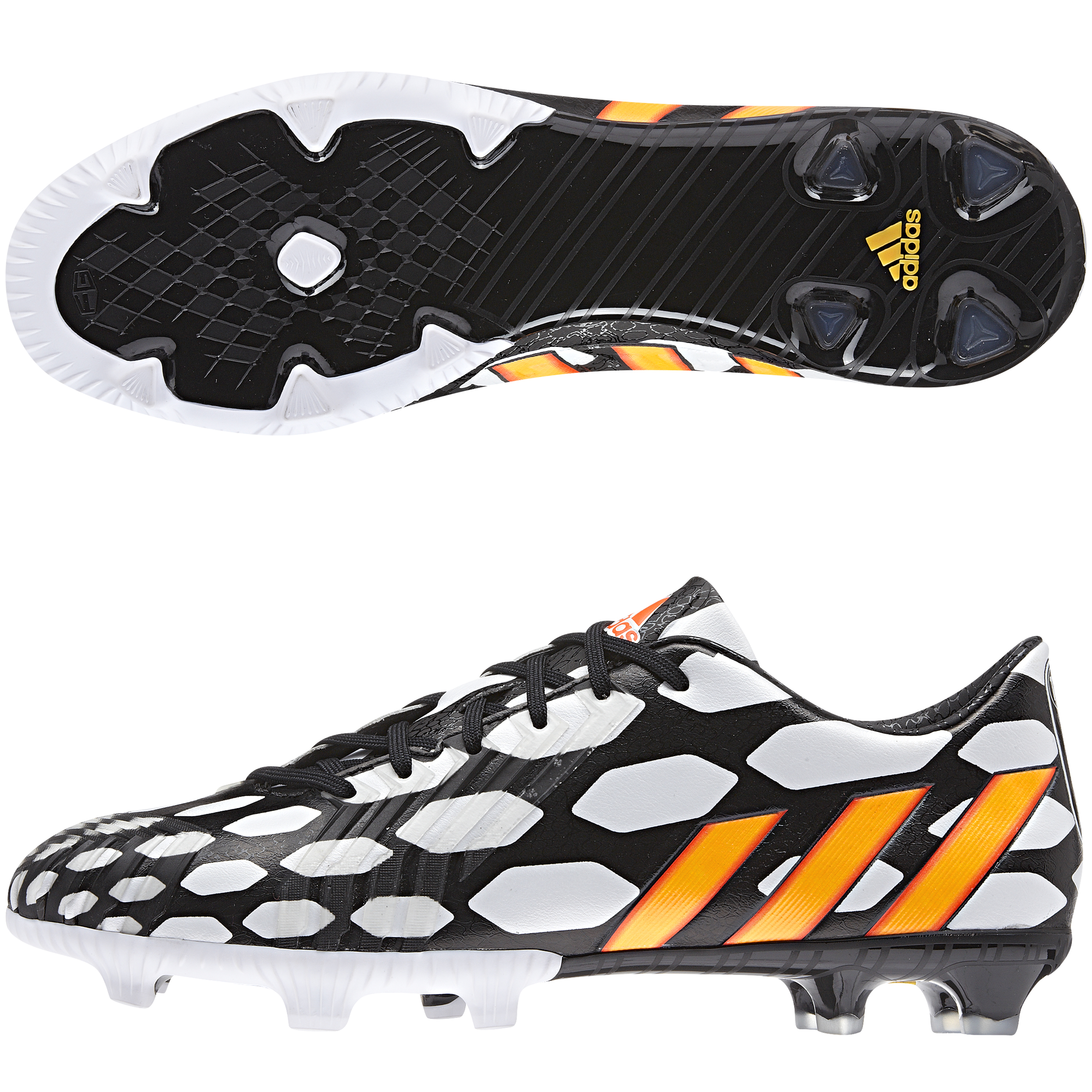Adidas Predator Absolion LZ World Cup 2014 Firm Ground Football Boots Black