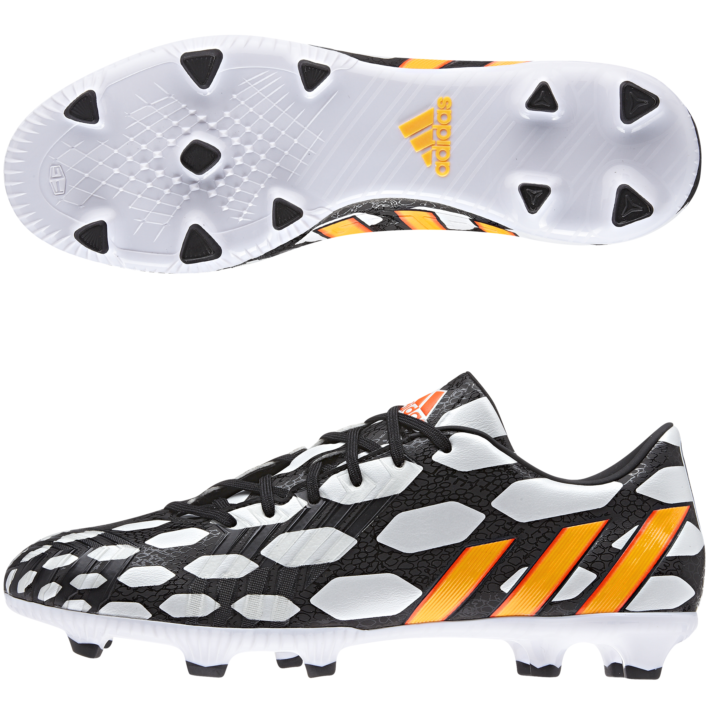Adidas Predator Absolado LZ World Cup 2014 Firm Ground Football Boots Black