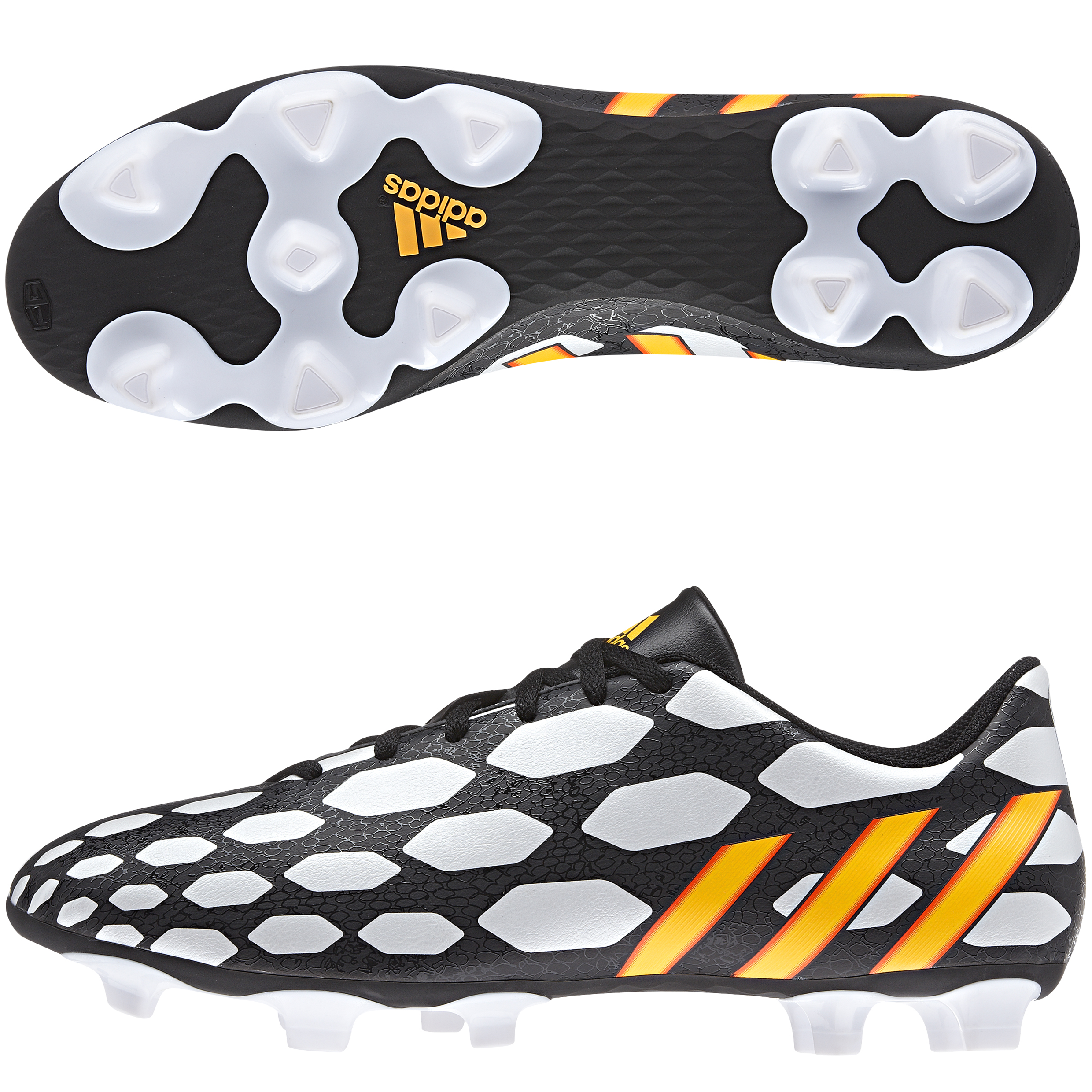 Adidas Predito LZ World Cup 2014 Firm Ground Football Boots Black