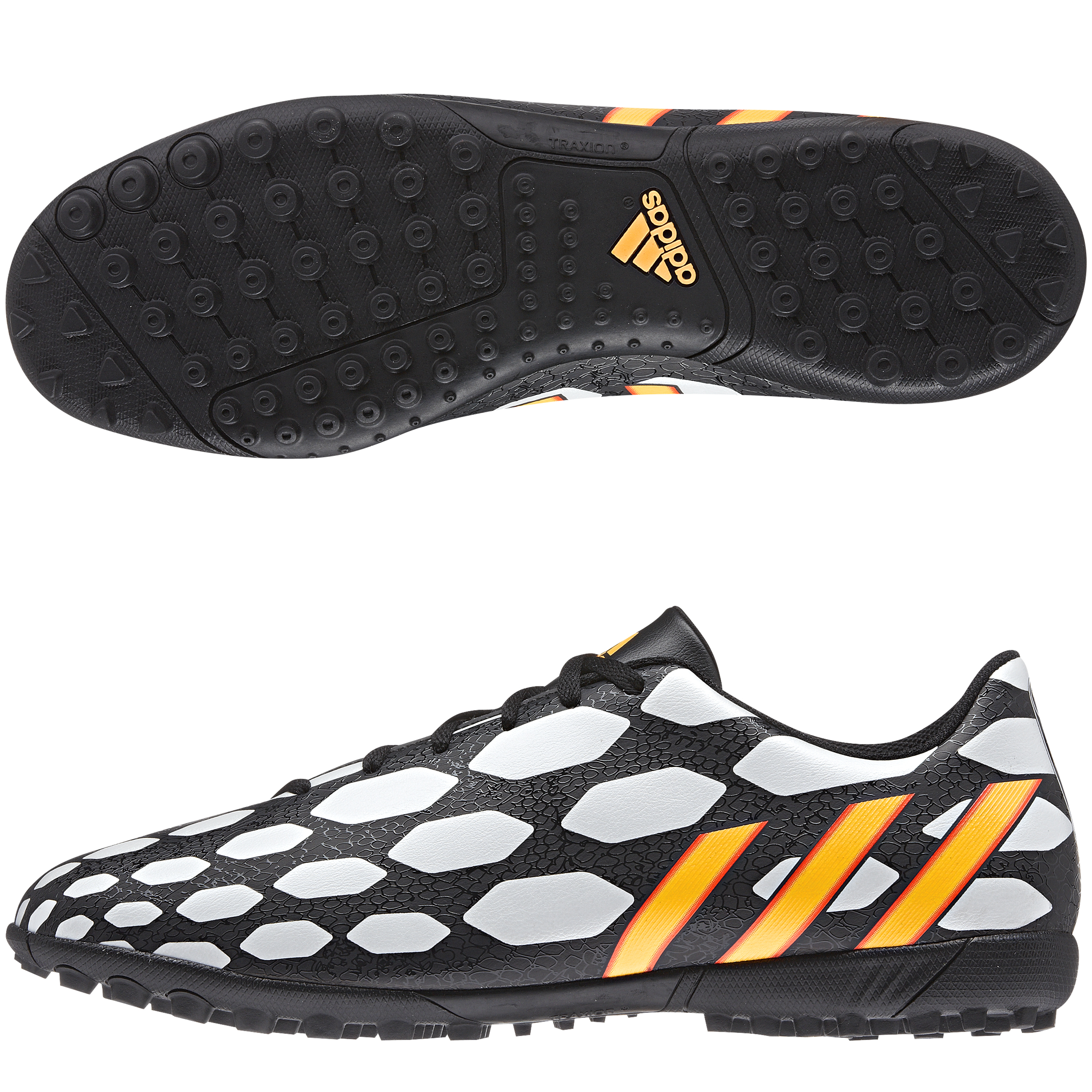 Adidas Predito LZ World Cup 2014 Astroturf Trainers Black