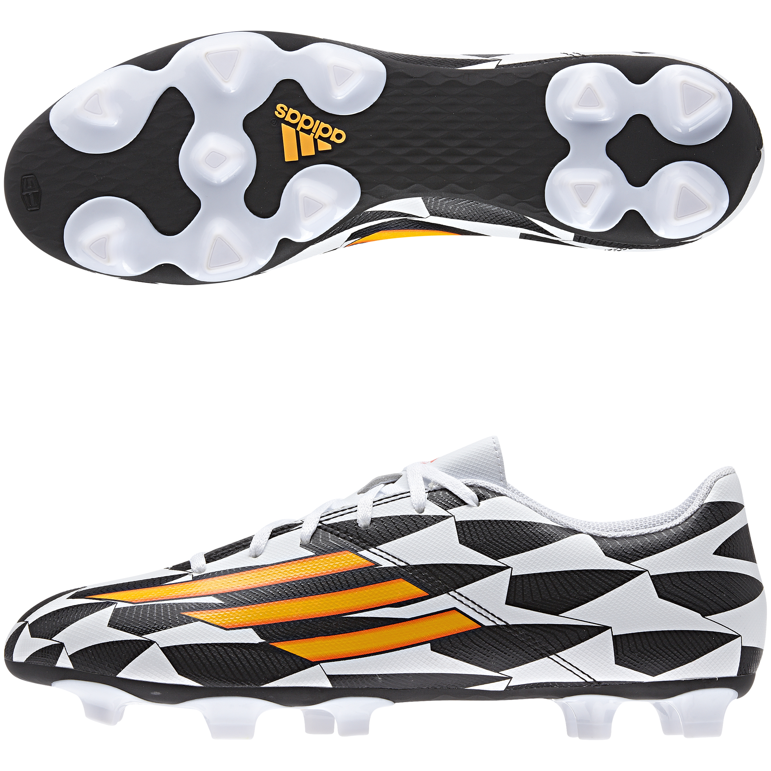 Adidas F5 World Cup 2014 Firm Ground Football Boots White