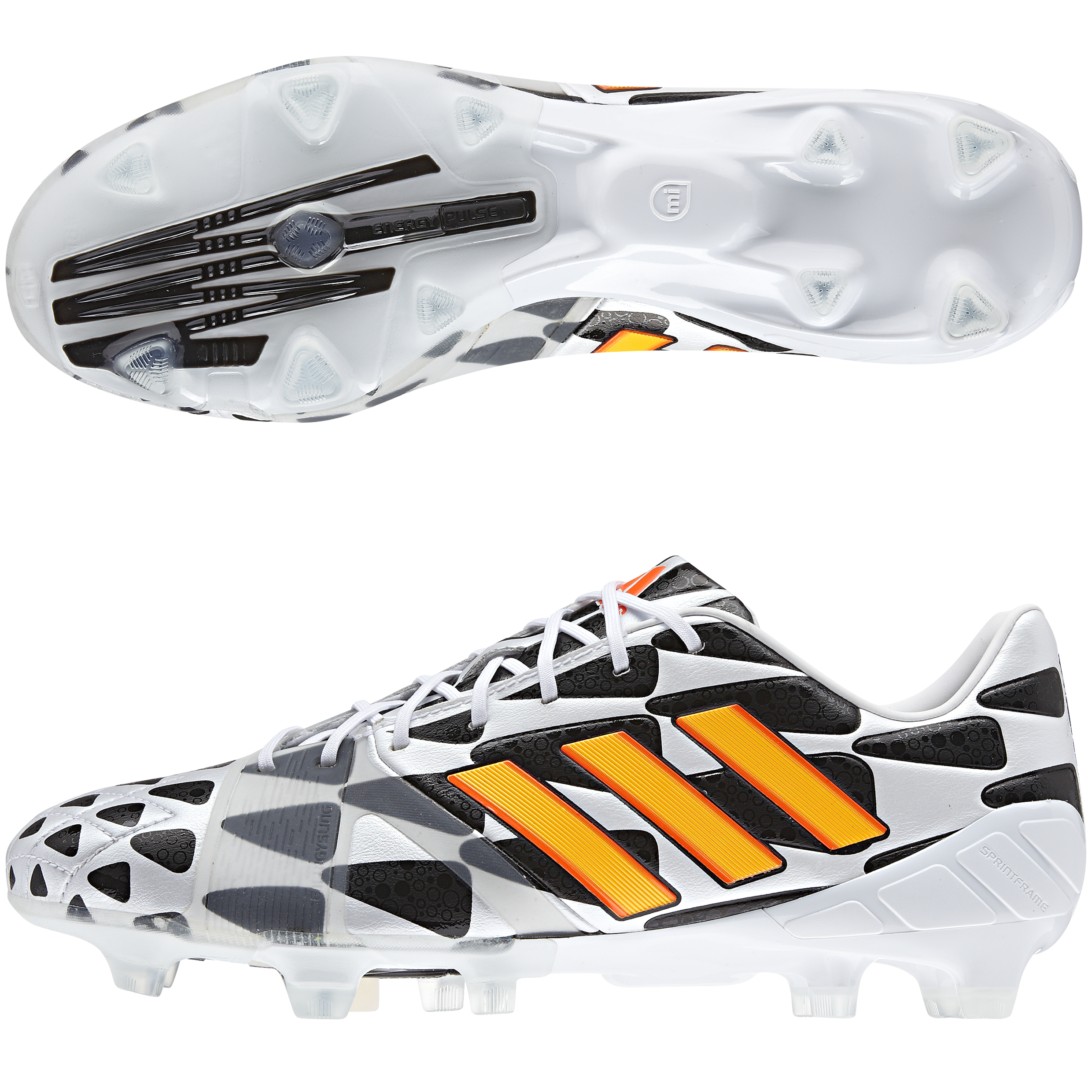 Adidas Nitrocharge 1.0 World Cup 2014 Firm Ground Football Boots White