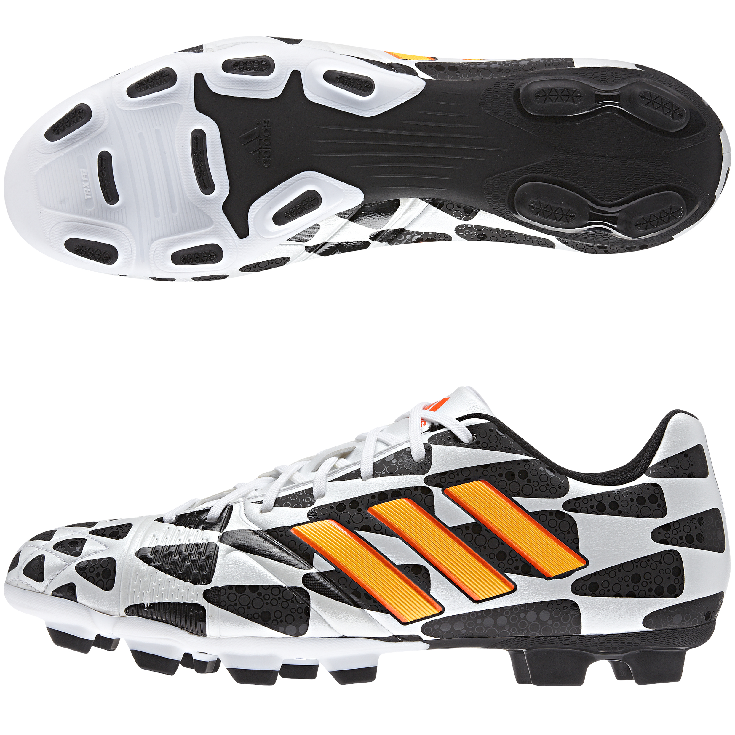 Adidas Nitrocharge 3.0 World Cup 2014 Firm Ground Football Boots White