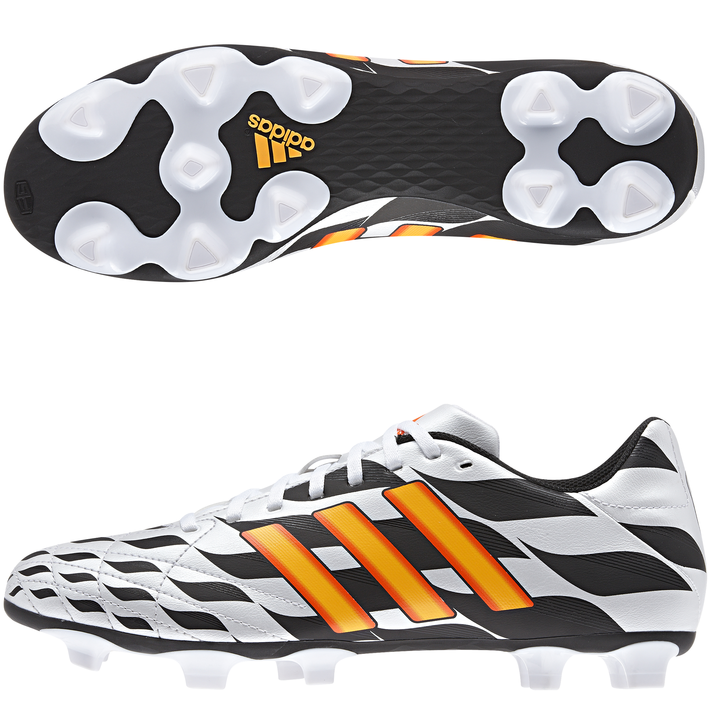 Adidas 11Questra World Cup 2014 Firm Ground Football Boots White