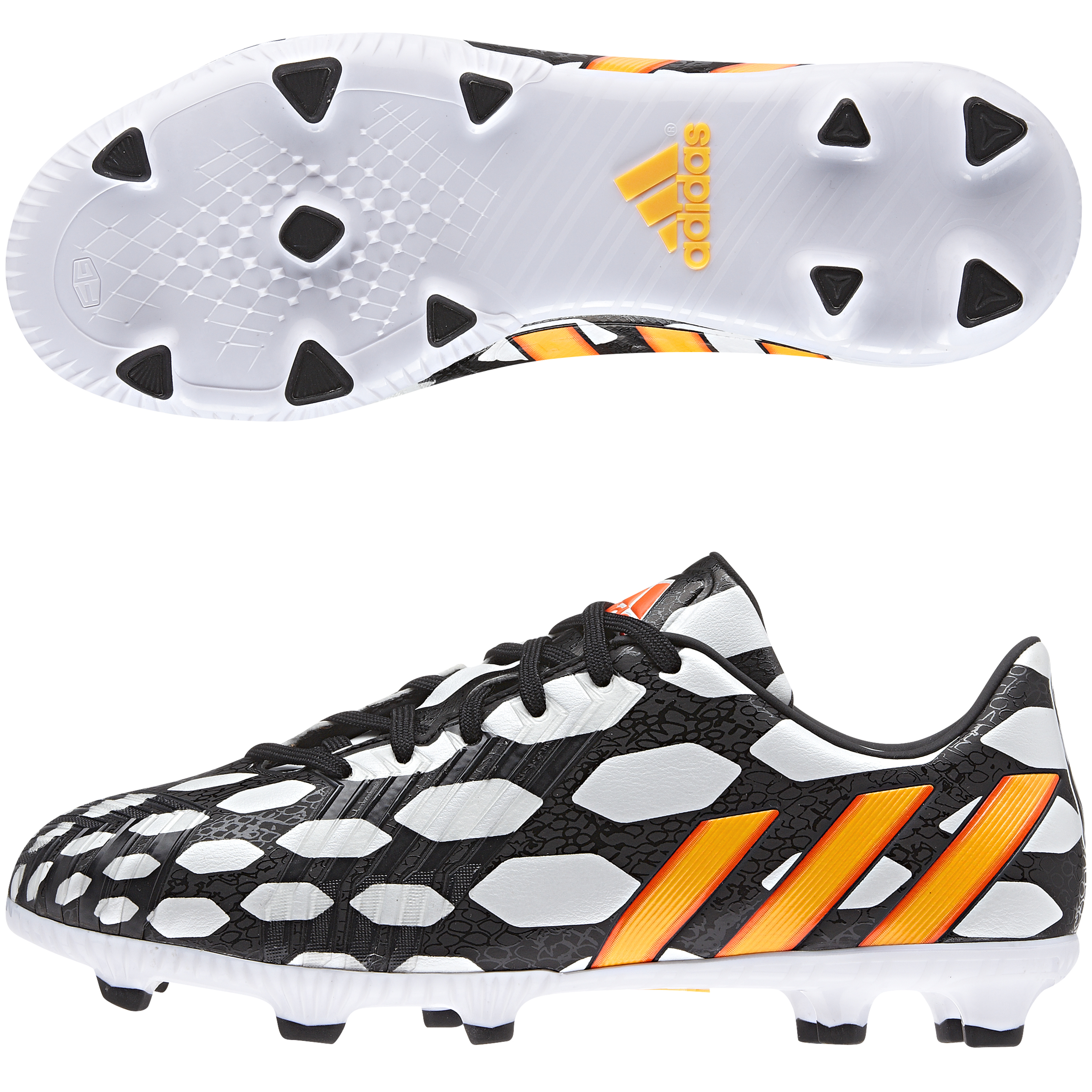 Adidas Predator Absolado LZ World Cup 2014 Firm Ground Football Boots  Kids Black