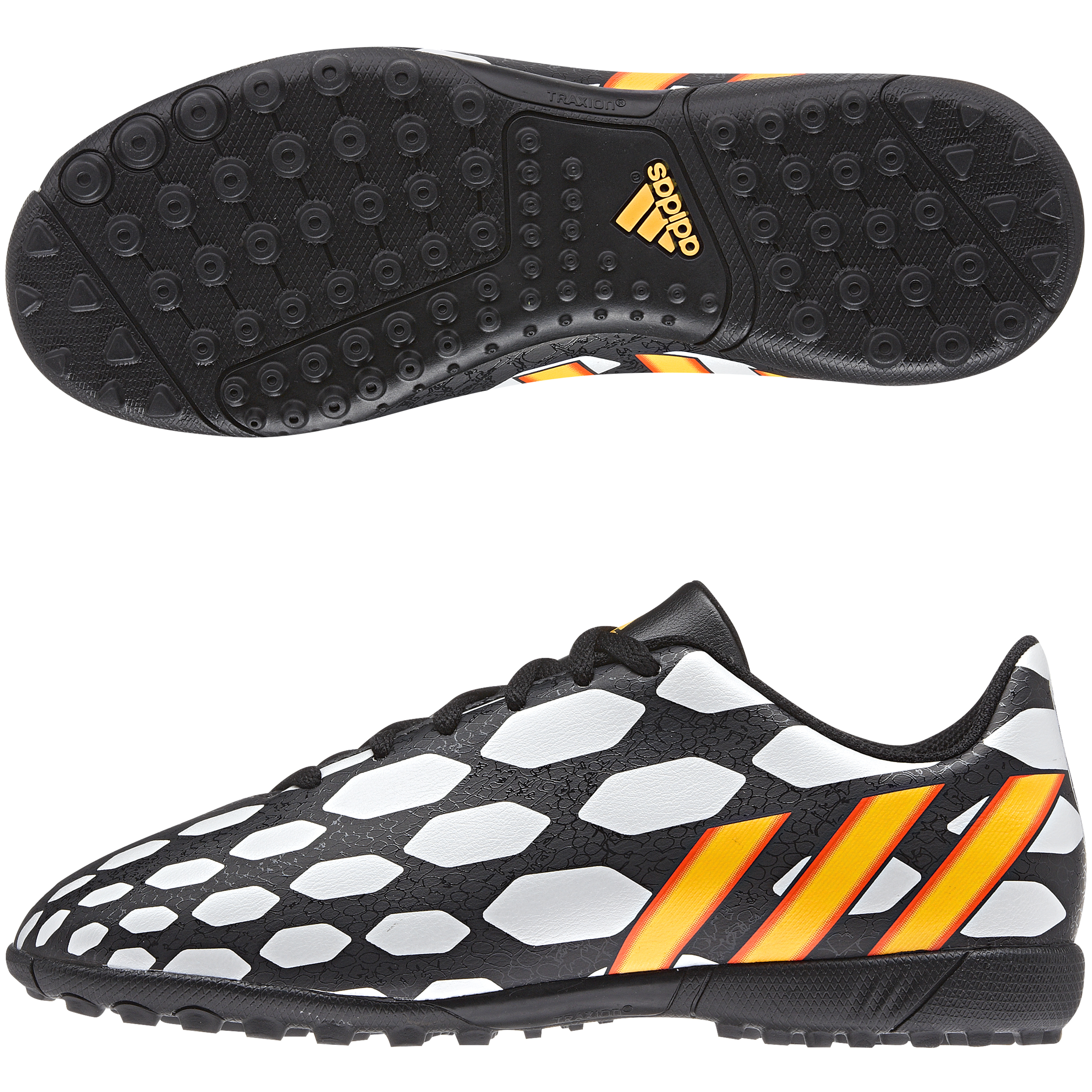 Adidas Predito LZ World Cup 2014 Astroturf Trainers - Kids Black