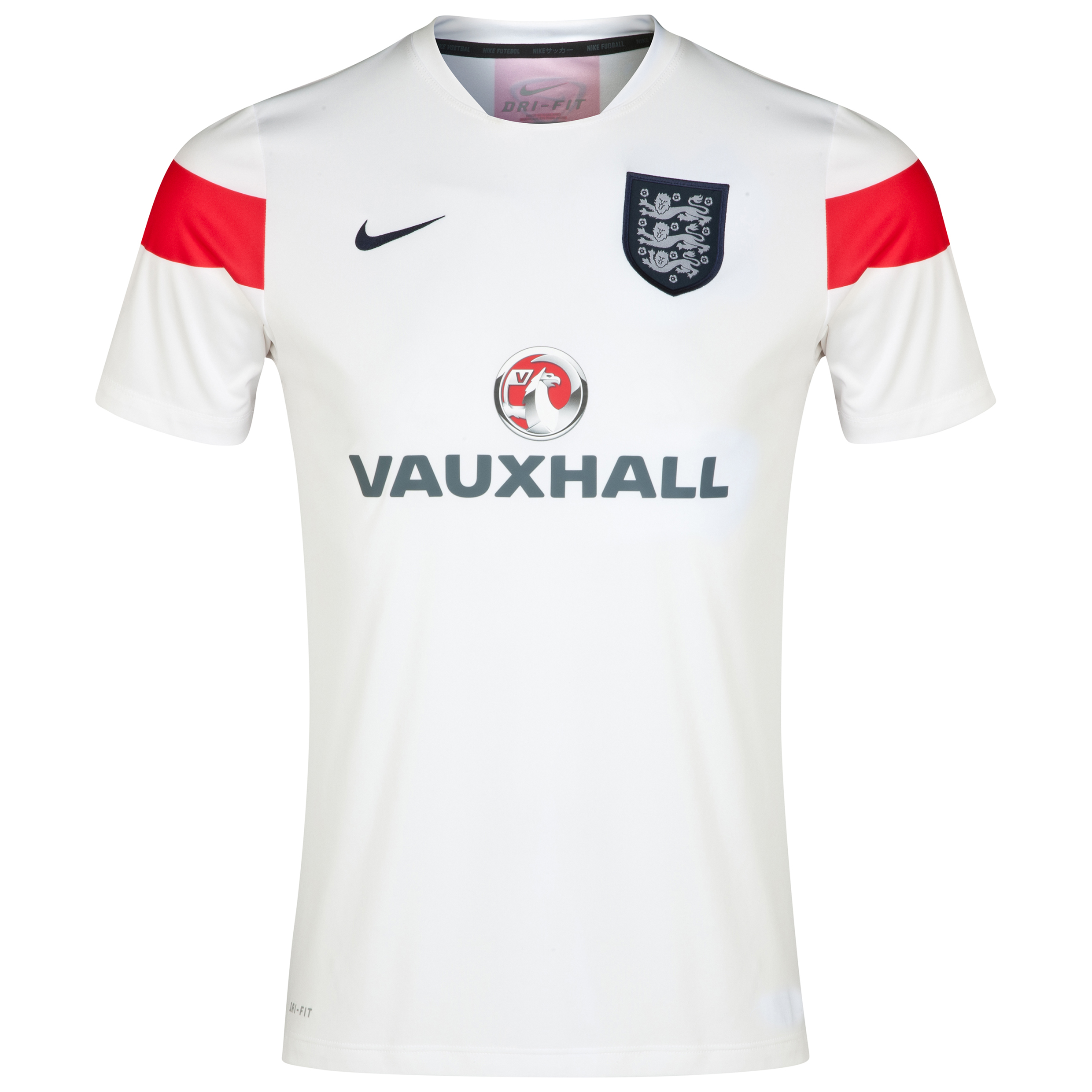 England Squad Short Sleeve Pre Match Top