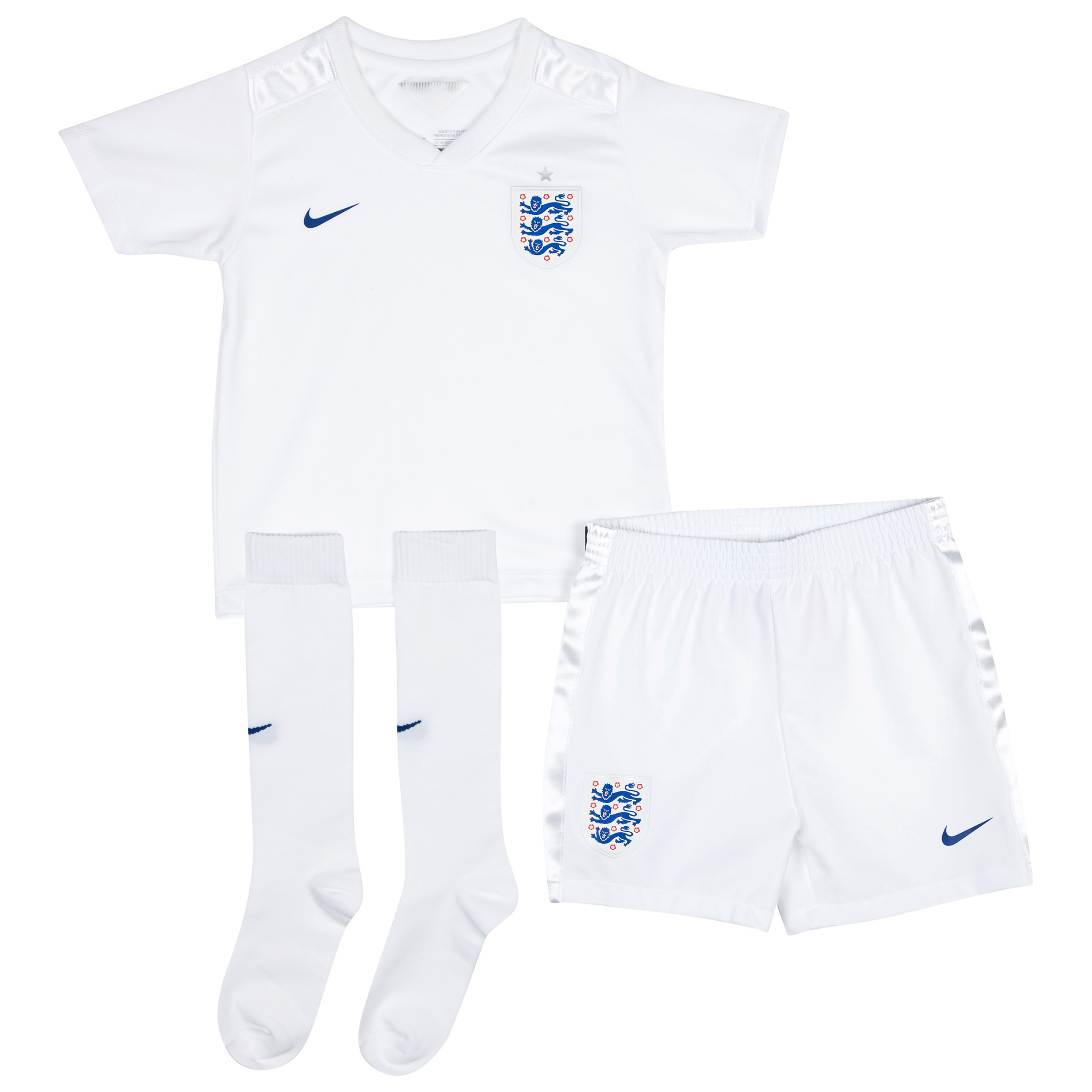 England Home Kit 2014/15 - Little Boys White
