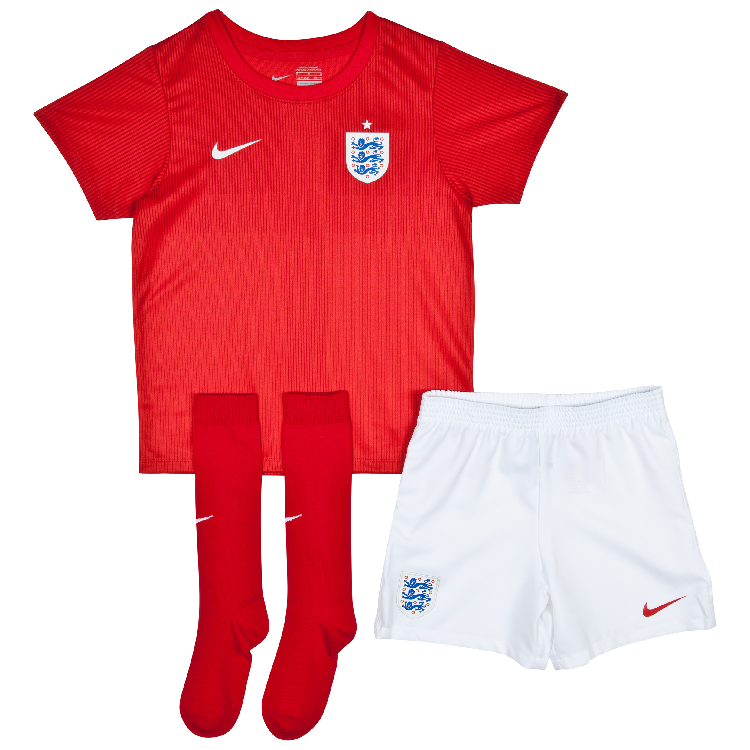 England Away Kit 2014 - Little Boys Red