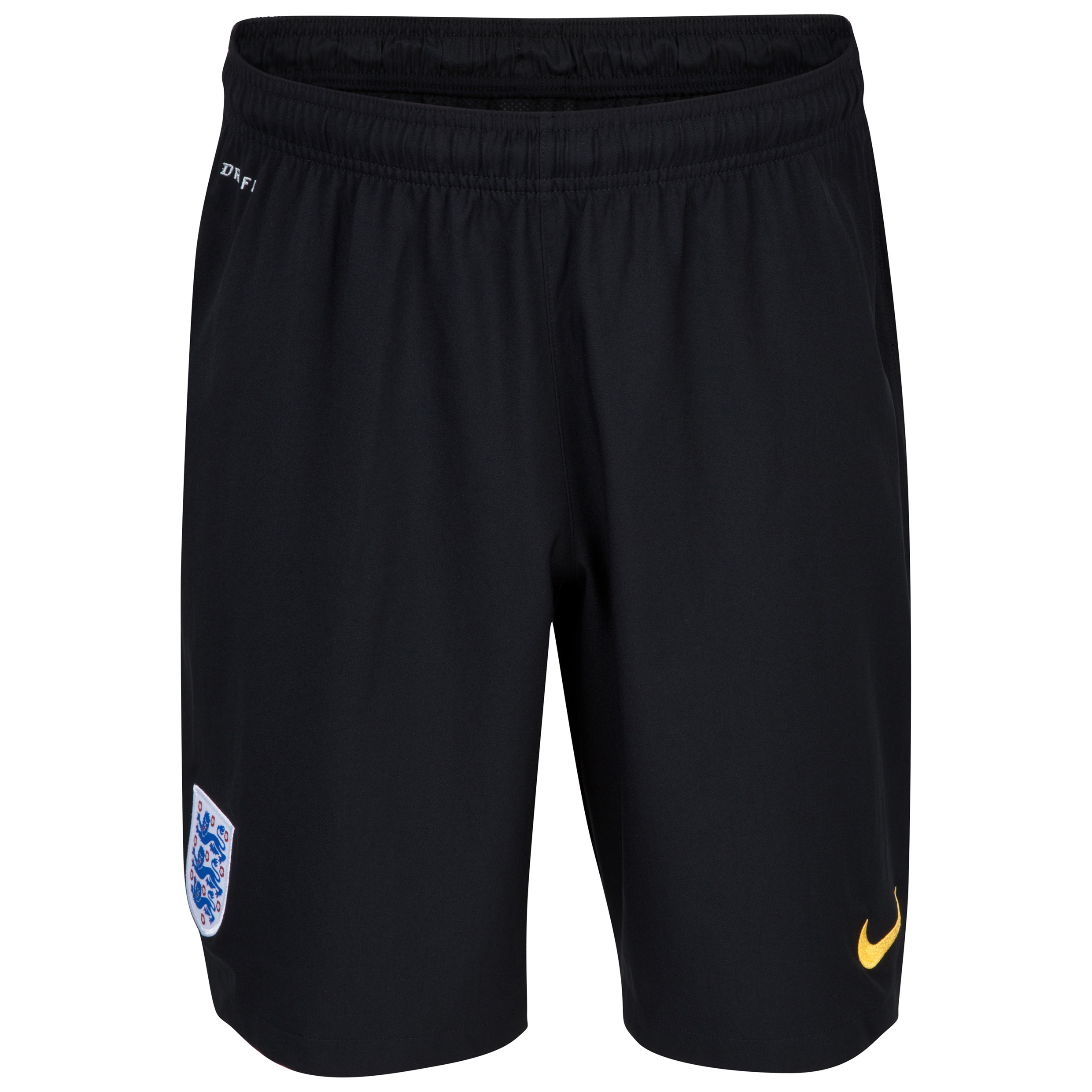 England Home Goalkeeper Shorts 2014/15 - Kids Black