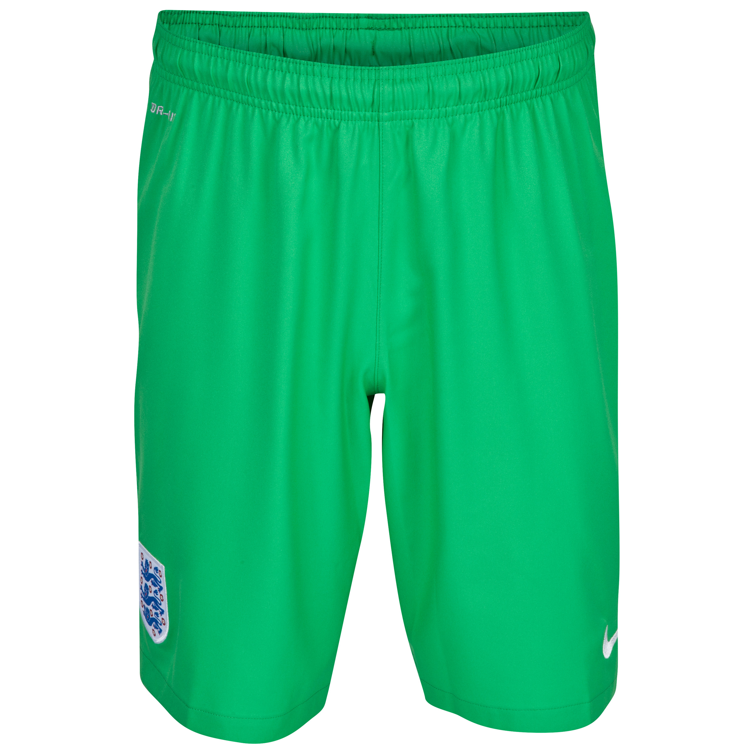 England Away Goalkeeper Short 2014 - Kids Lt Green