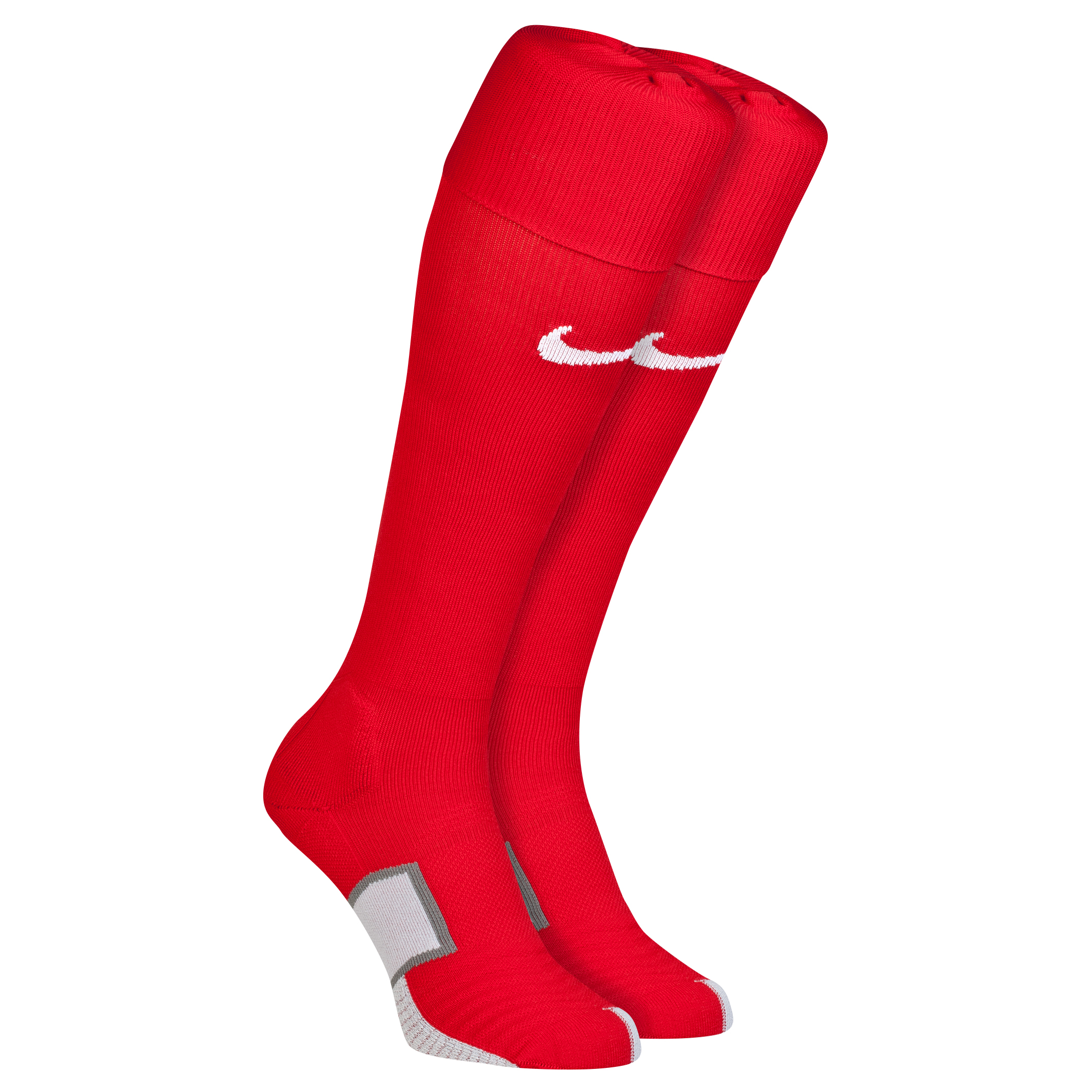 England Away Sock 2014 Red