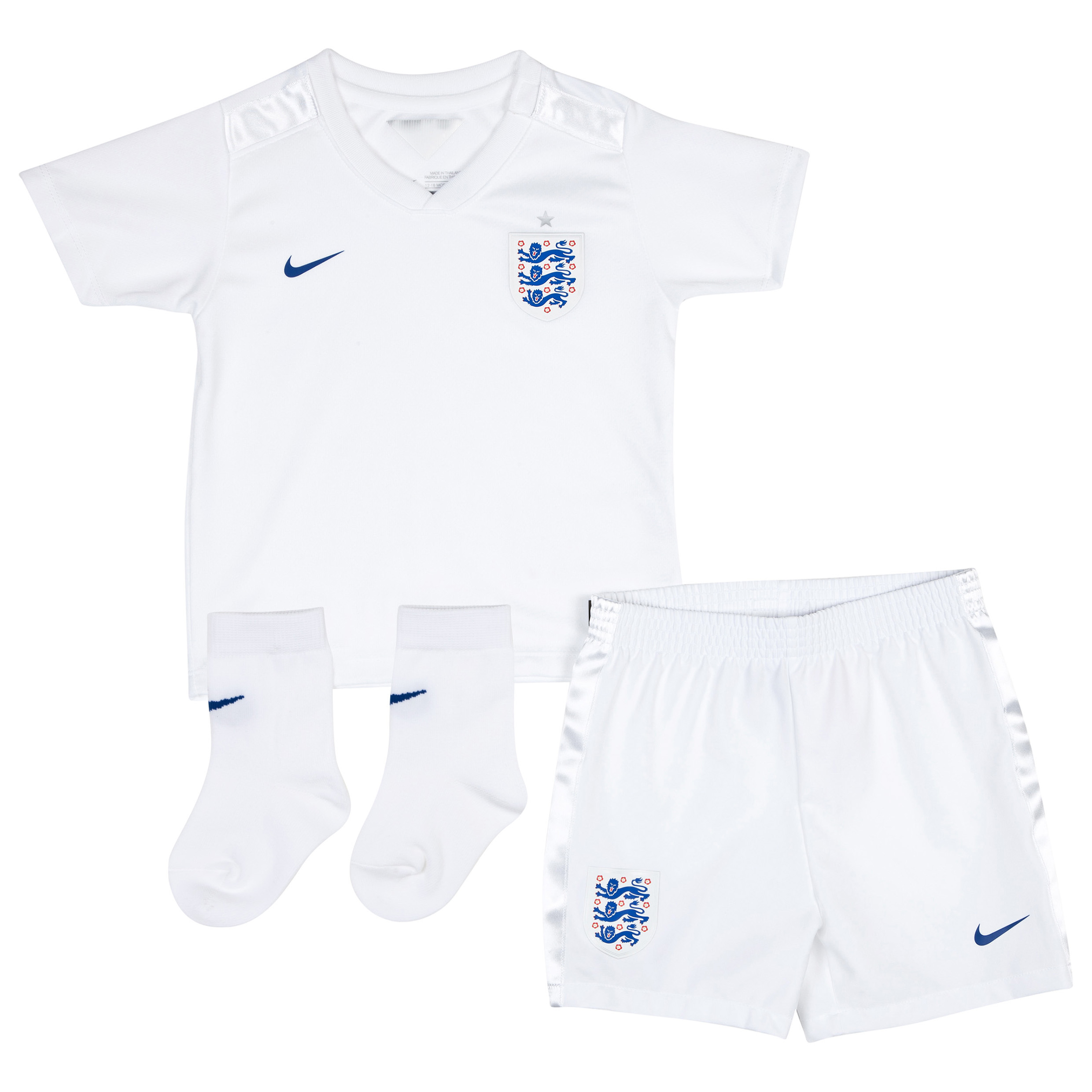 England Home Kit 2014/15 - Infants White